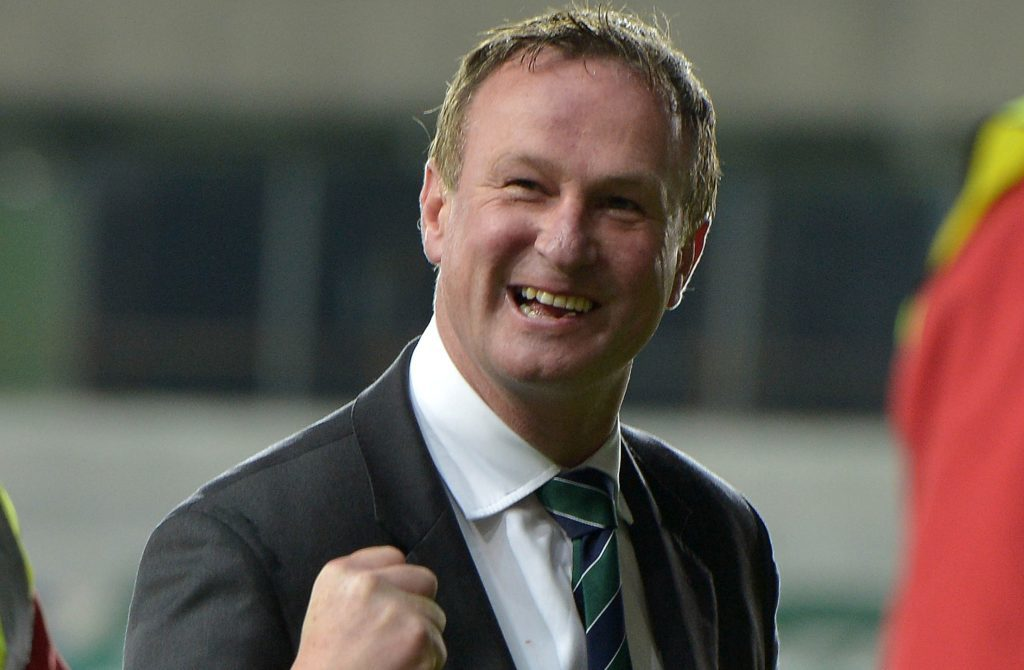 Northern Ireland manager Michael O'Neill (Charles McQuillan/Getty Images)