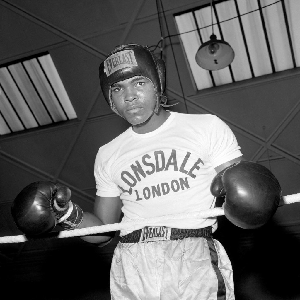 Muhammad Ali pictured in 1966. Four years later he'd have to play second fiddle to Scots legend Ken Buchanan (PA Archive)