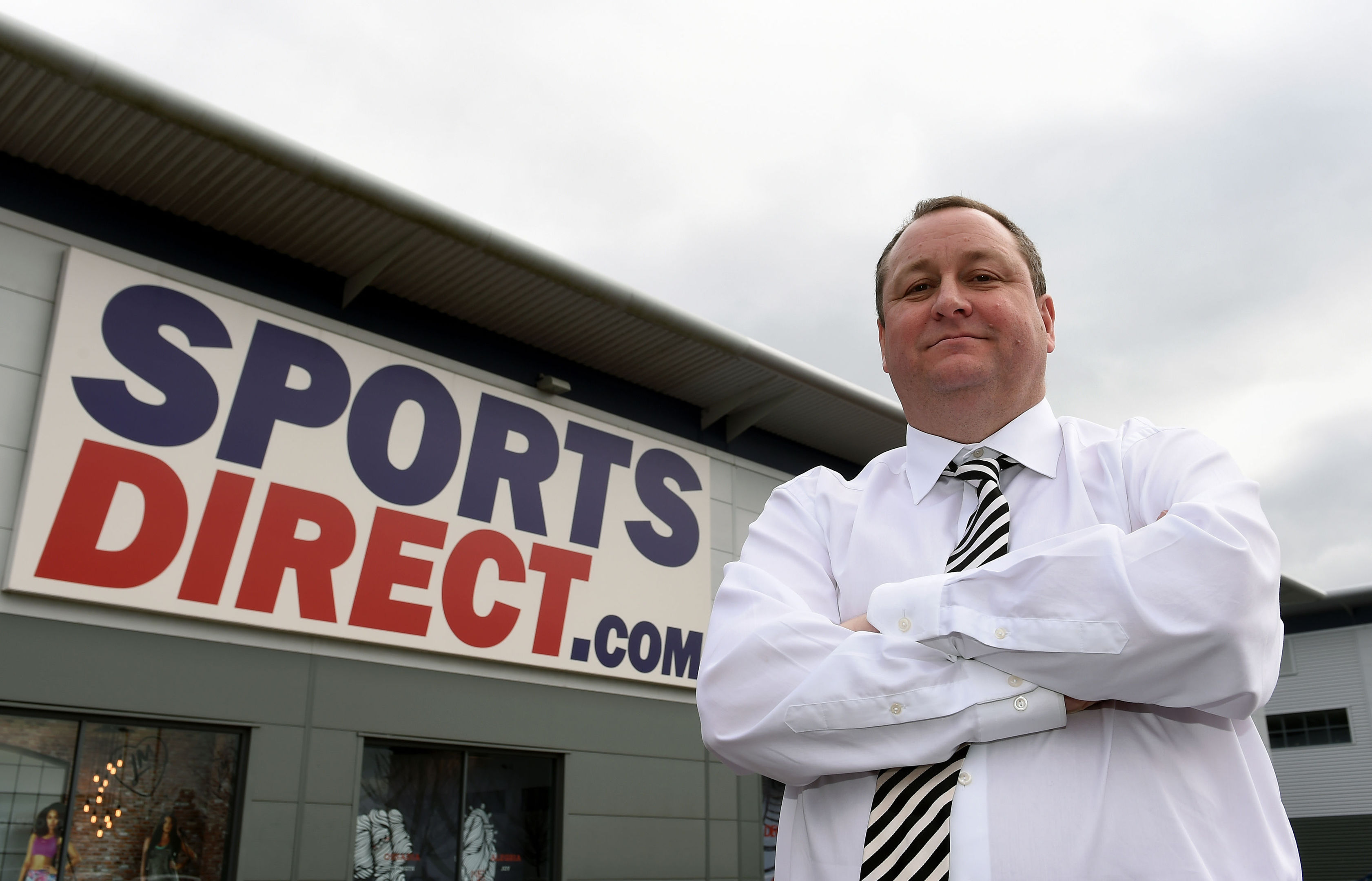 Sports Direct founder Mike Ashley (Joe Giddens/PA Wire)