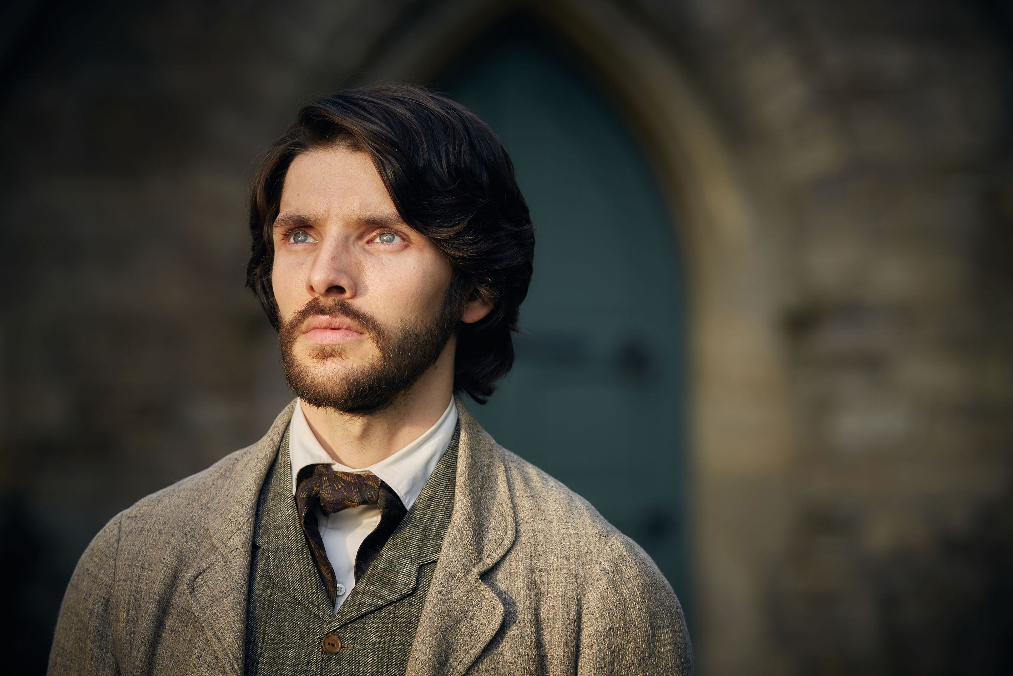 Colin Morgan in The Living and the Dead (PA Photo/BBC/Robert Viglasky)