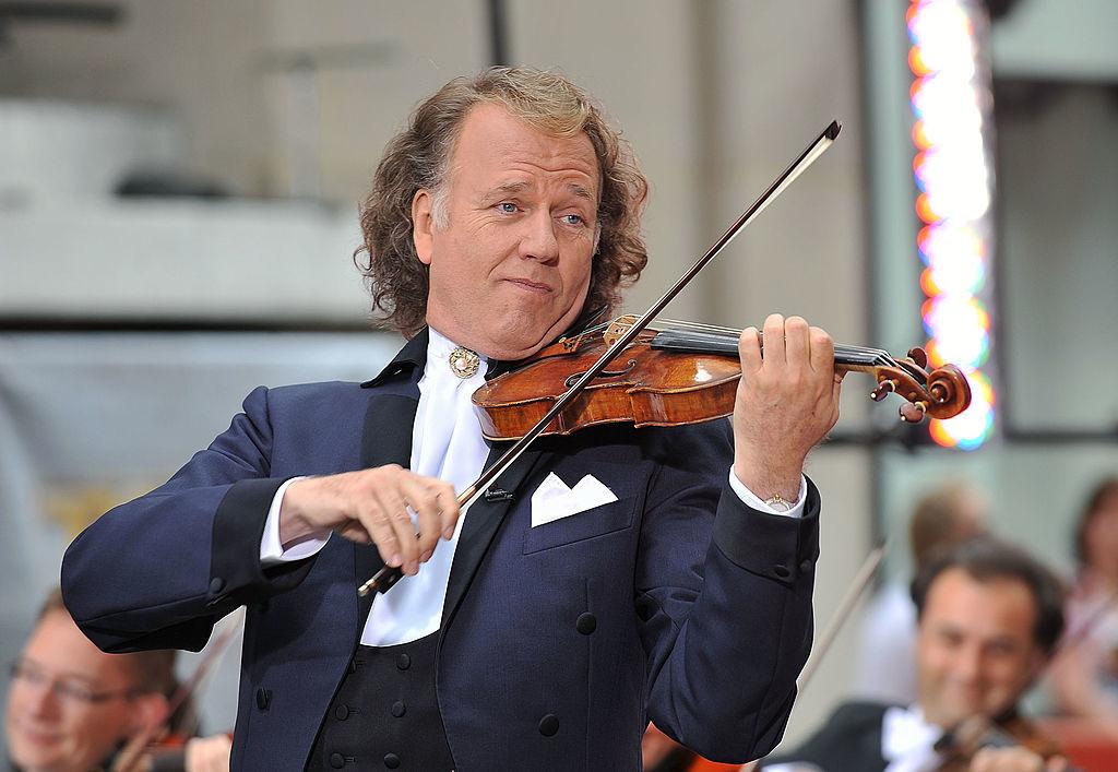 Dutch violinist Andre Rieu (Slaven Vlasic/Getty Images)
