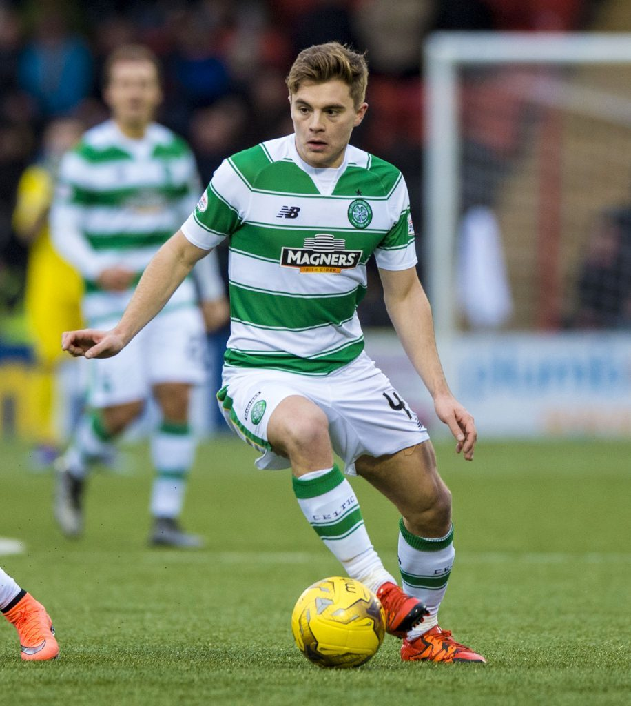 James Forrest is out of contract this summer and will hope to impress (SNS Group)