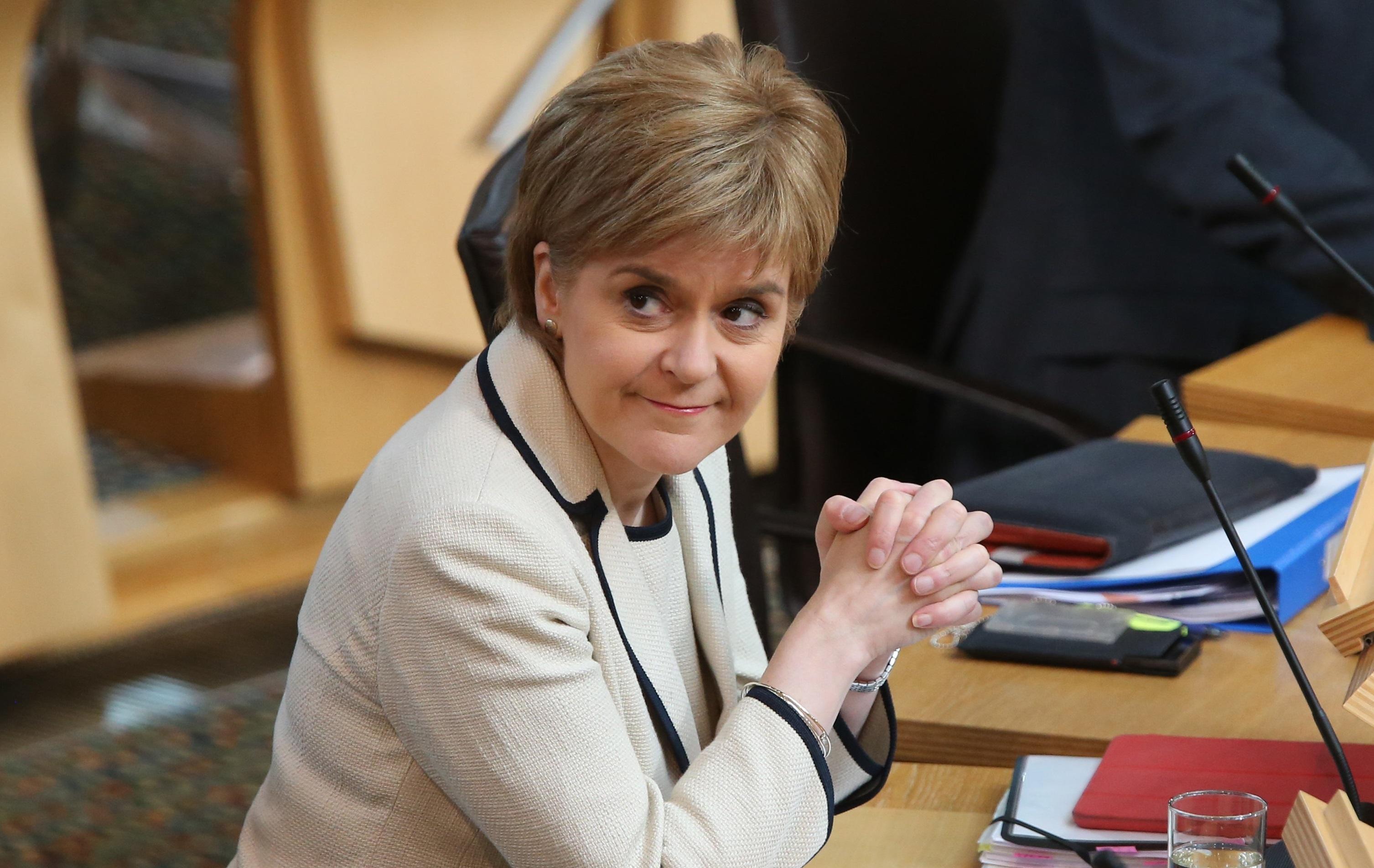 Scotland's First Minister Nicola Sturgeon (Andrew Milligan/PA Wire)