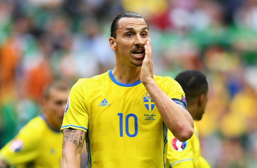 Zlatan Ibrahimovic of Sweden (Matthias Hangst/Getty Images)