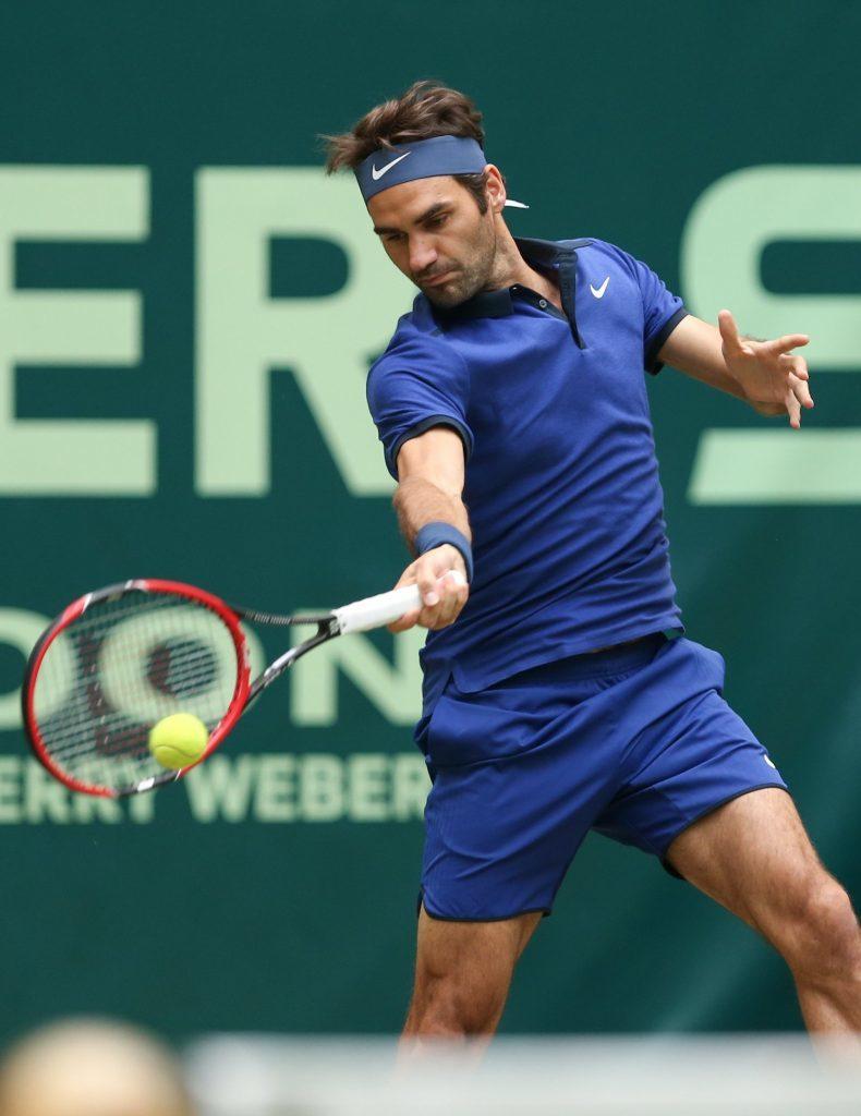 Roger Federer (Friso Gentsch/dpa via AP)