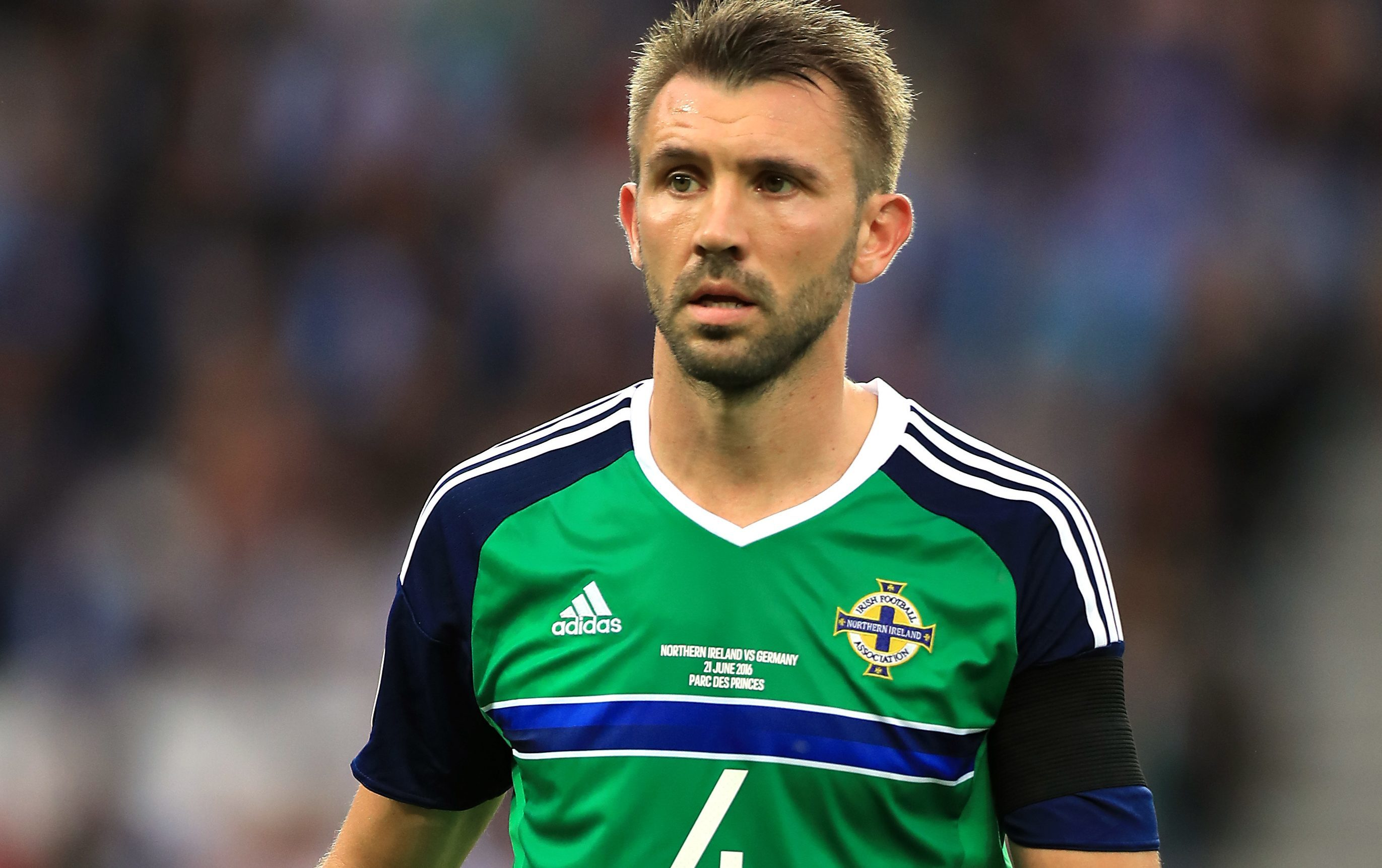 Gareth McAuley, Northern Ireland (PA)
