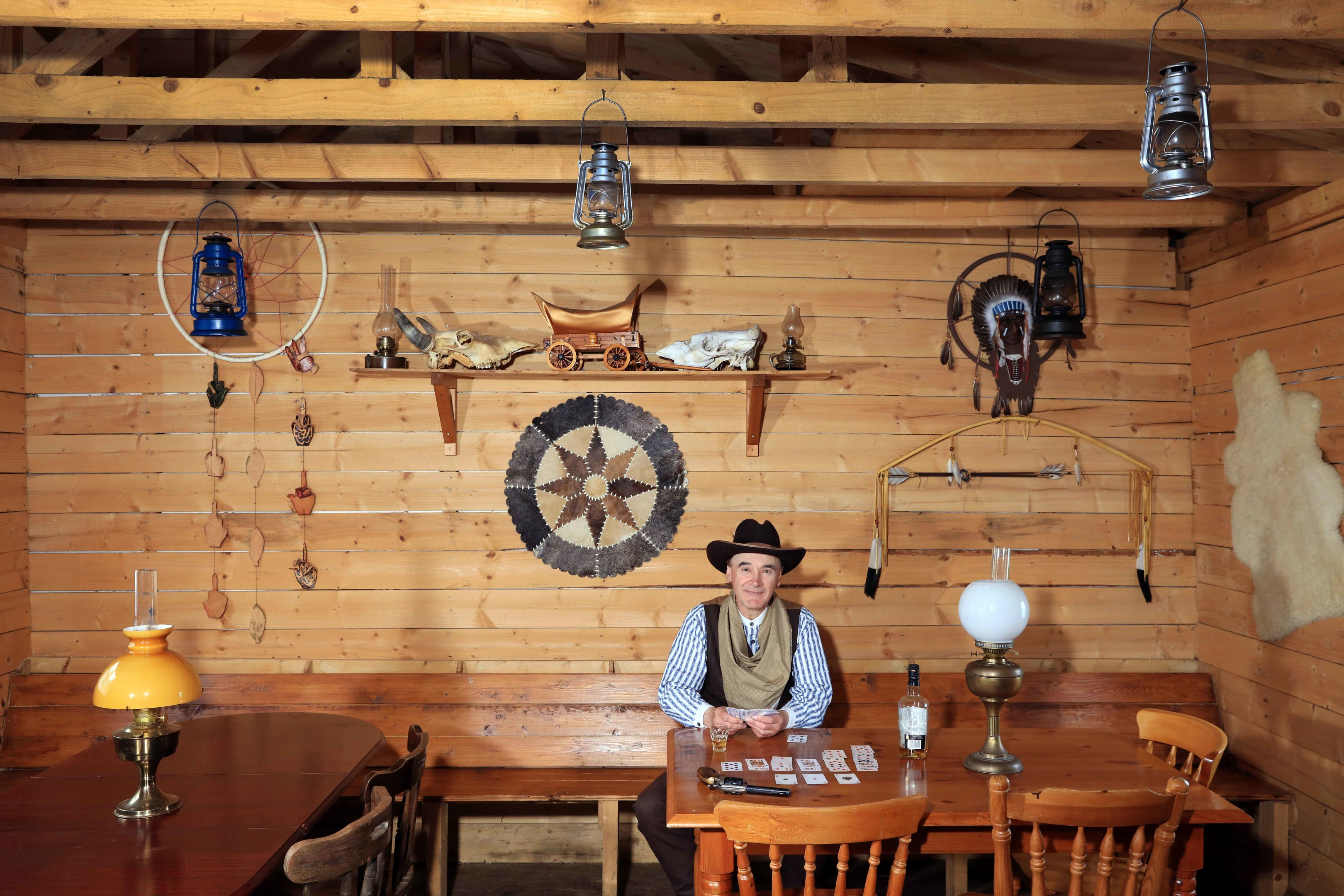 Wooden Wild West Haven In Running For Shed Of The Year