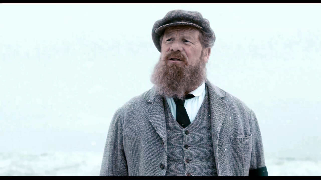 Peter Mullan in the film Tommy's Honour