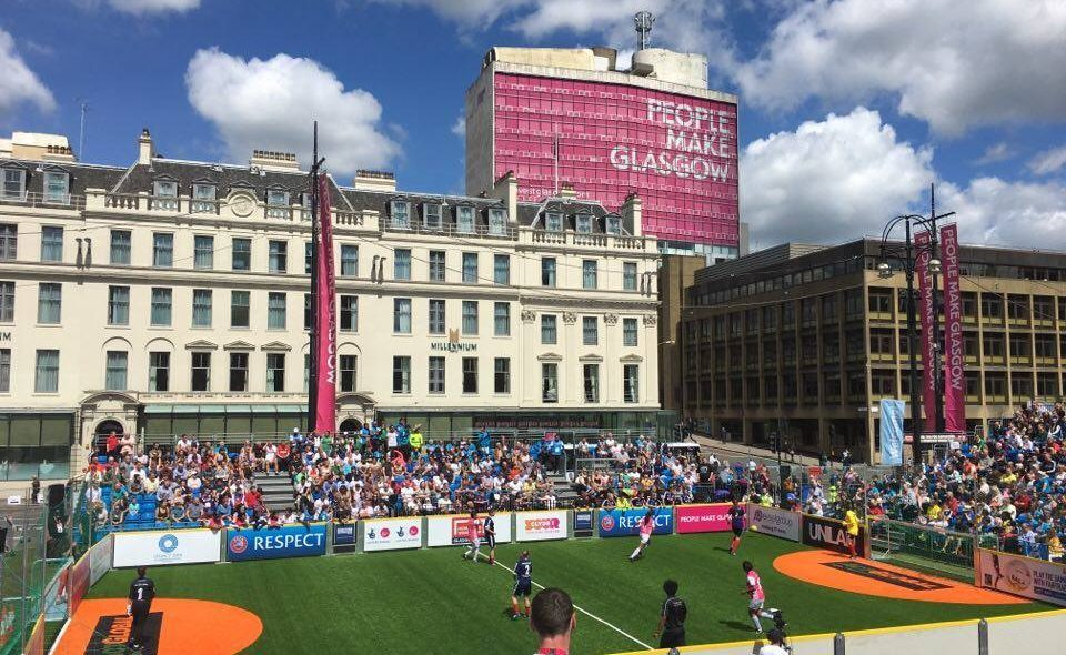 Homeless World Cup, George Square