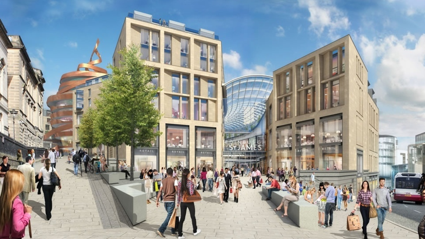 The W Edinburgh hotel will transform the city's skyline