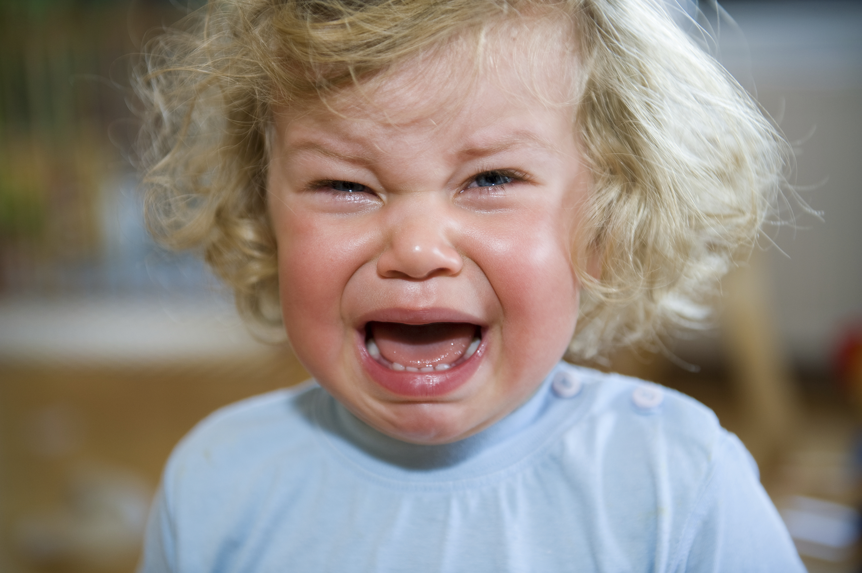Child having a tantrum (Getty)