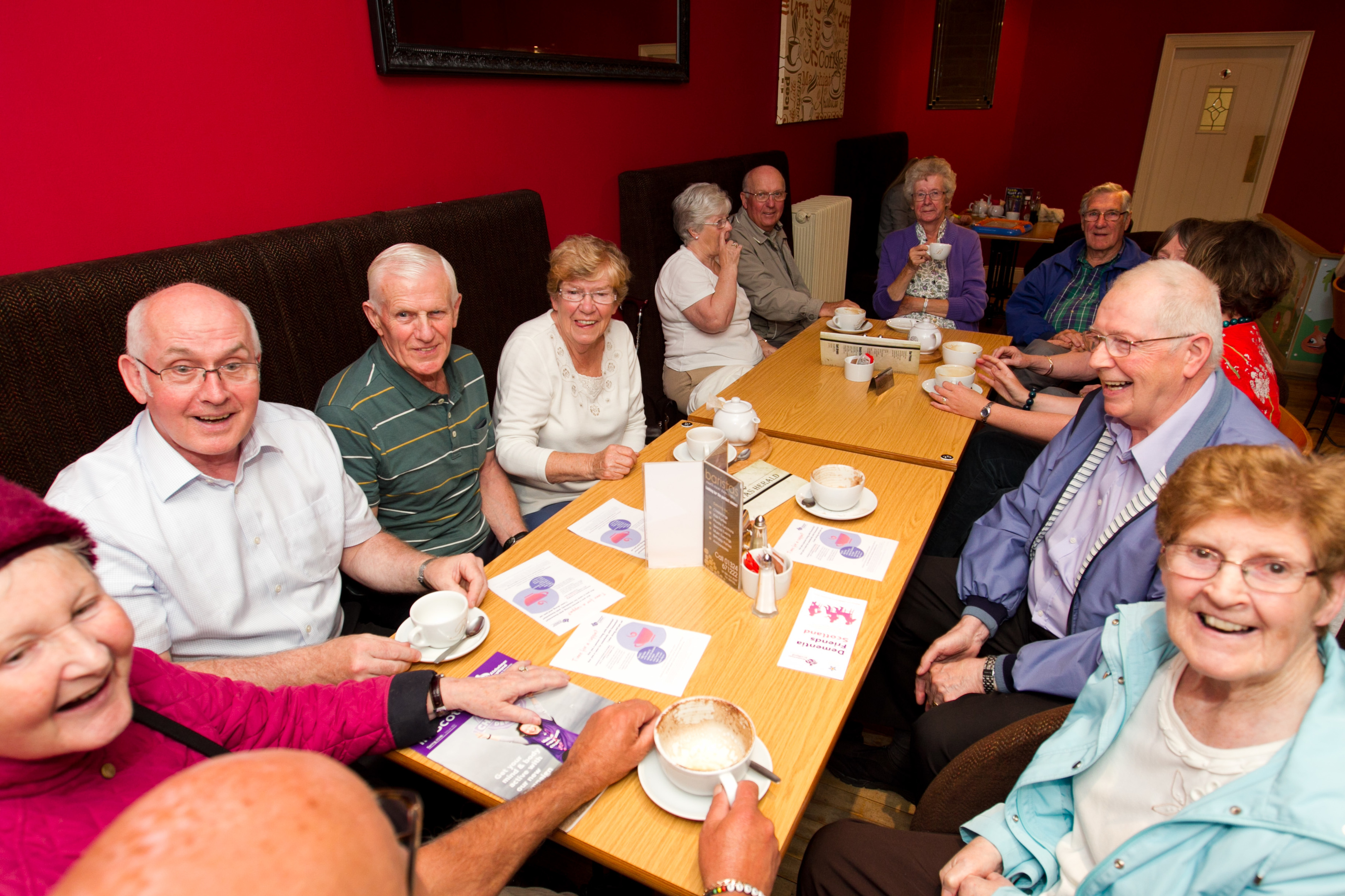 Dementia Cafe, Falkirk (Andrew Cawley / DC Thomson)