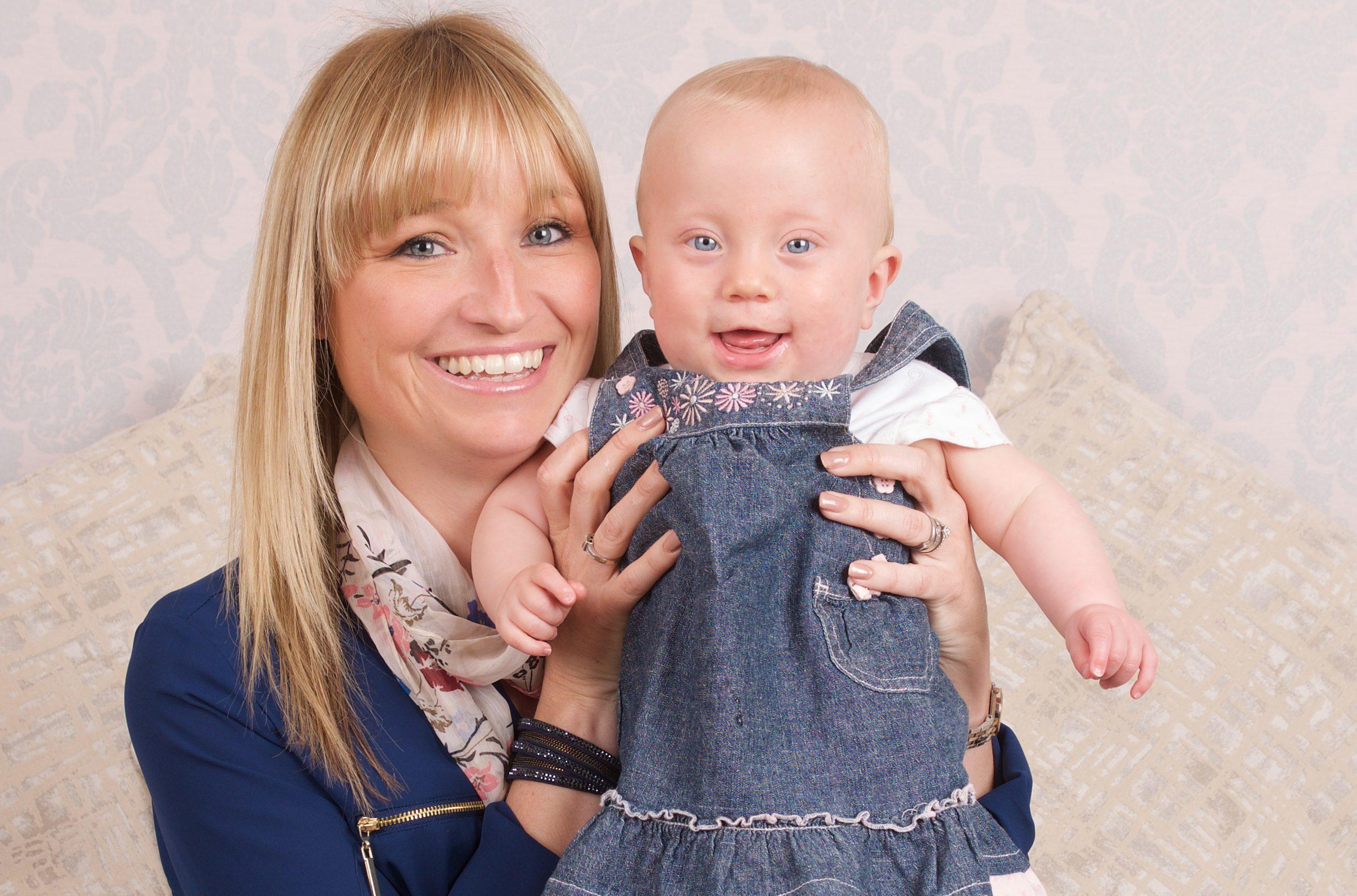 Sophia was born at just 26 weeks into Vicki's pregnancy (Ben Rector)