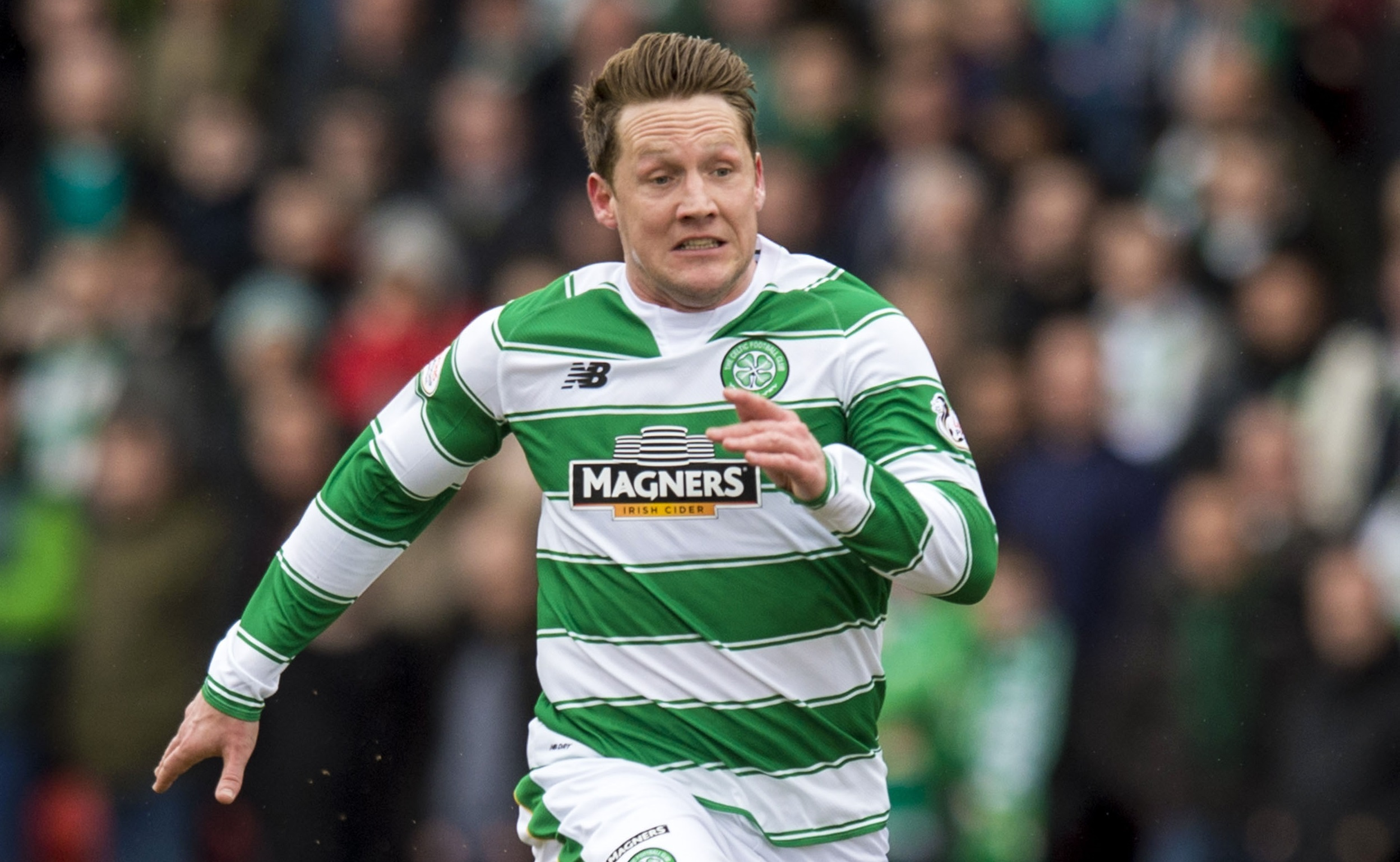 Kris Commons in action for Celtic (SNS Group)