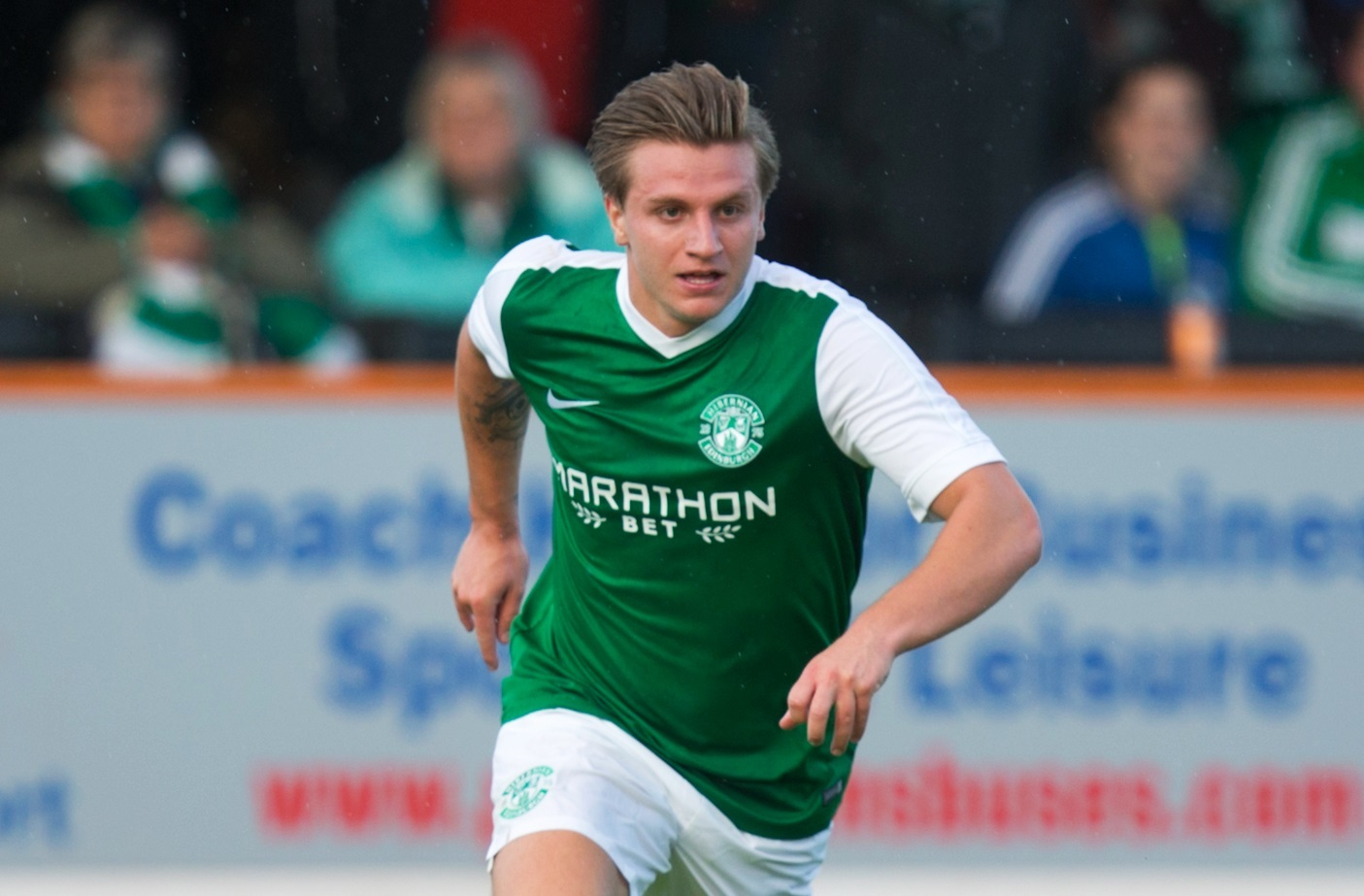 Hibernian's Jason Cummings (SNS Group / Graham Stuart)