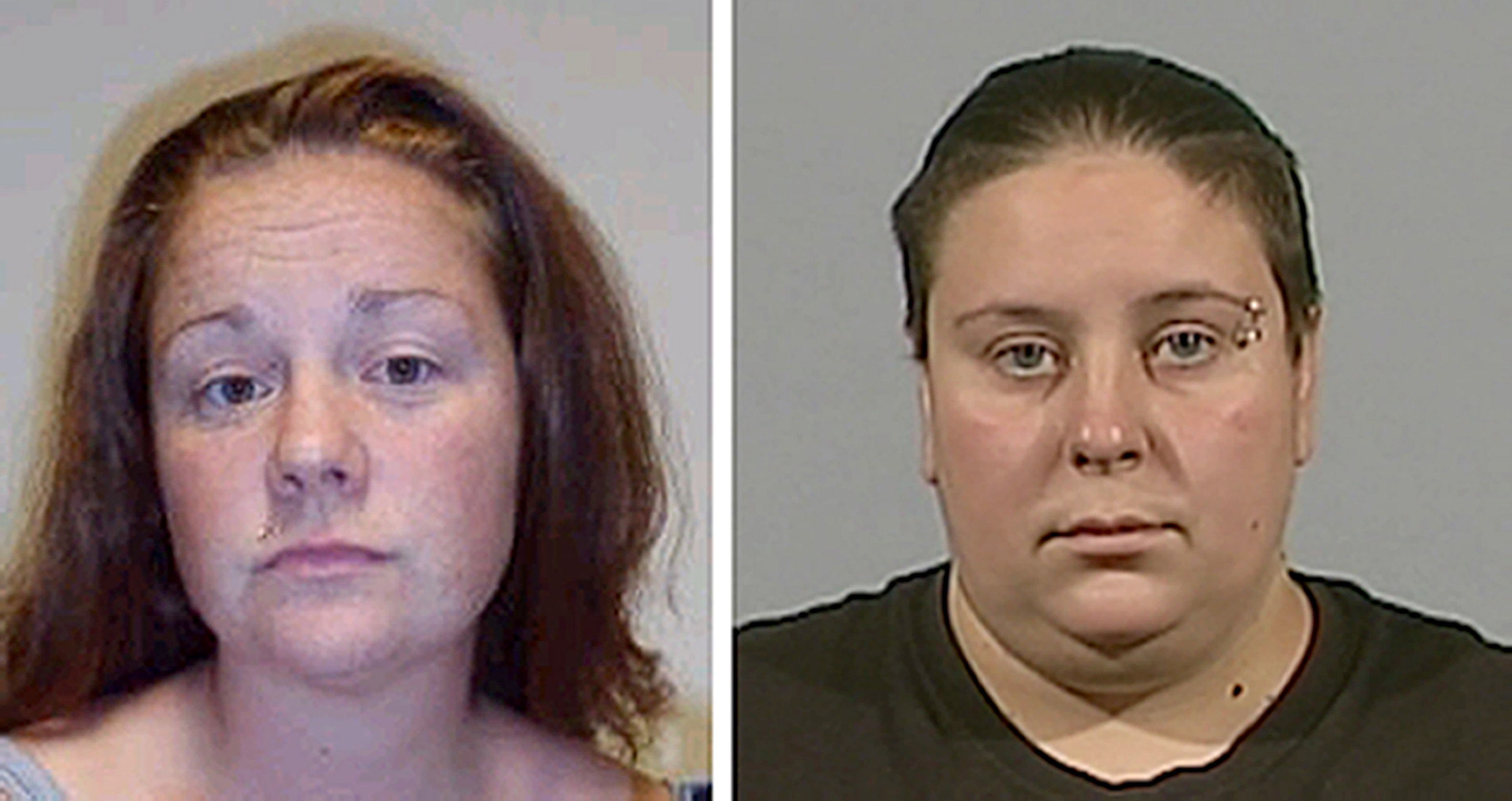Rachel Fee or Trelfa (left), 31, and her partner Nyomi Fee, 28, (Police Scotland/PA Wire)