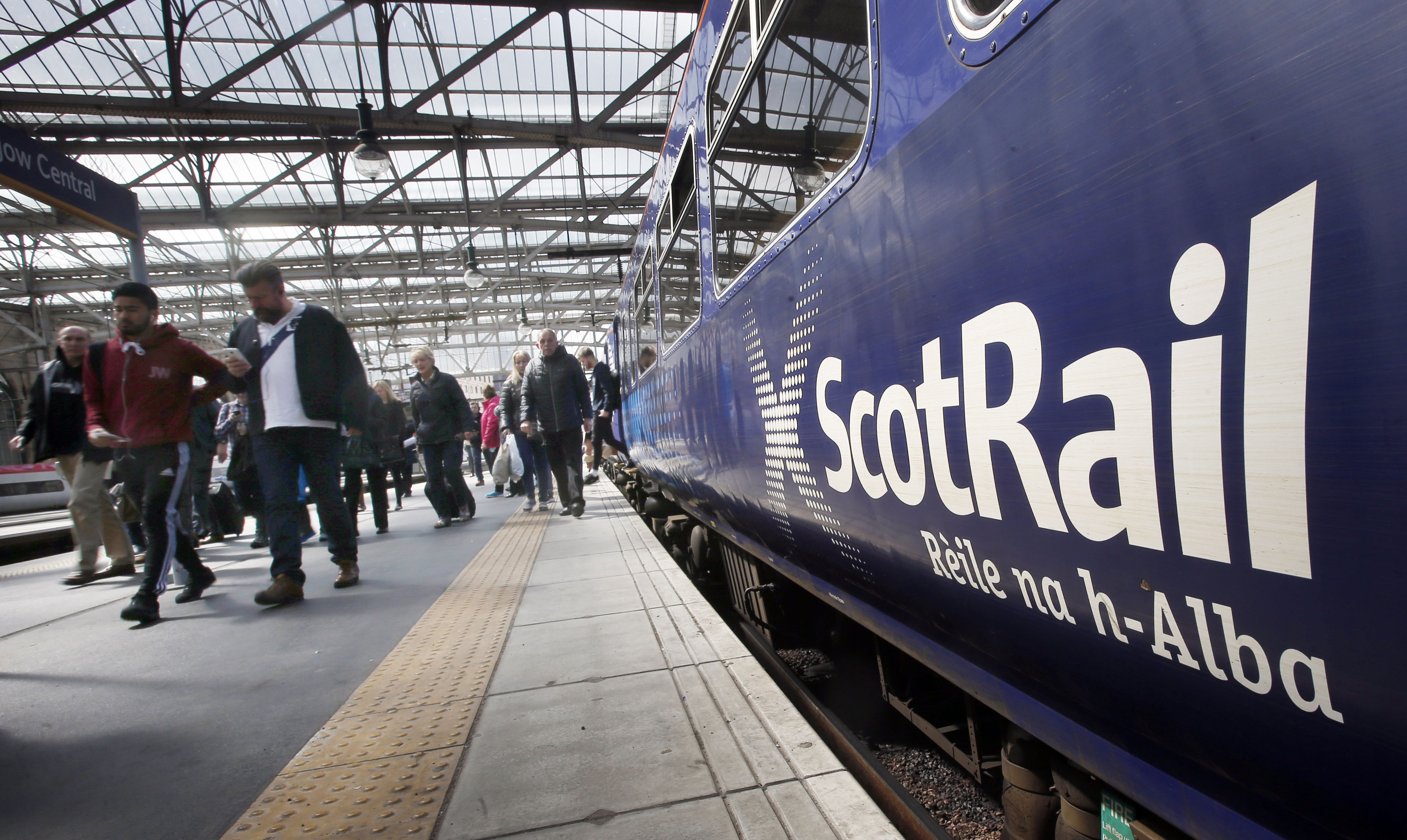 A ScotRail train (PA)