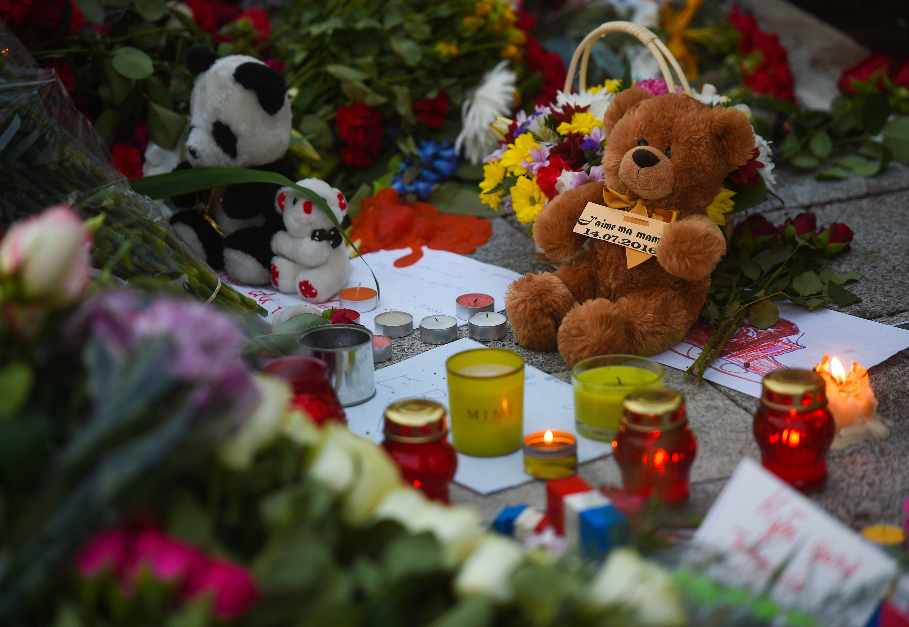Nice attack commemoration (Viktor BerezkinTASS via Getty Images)