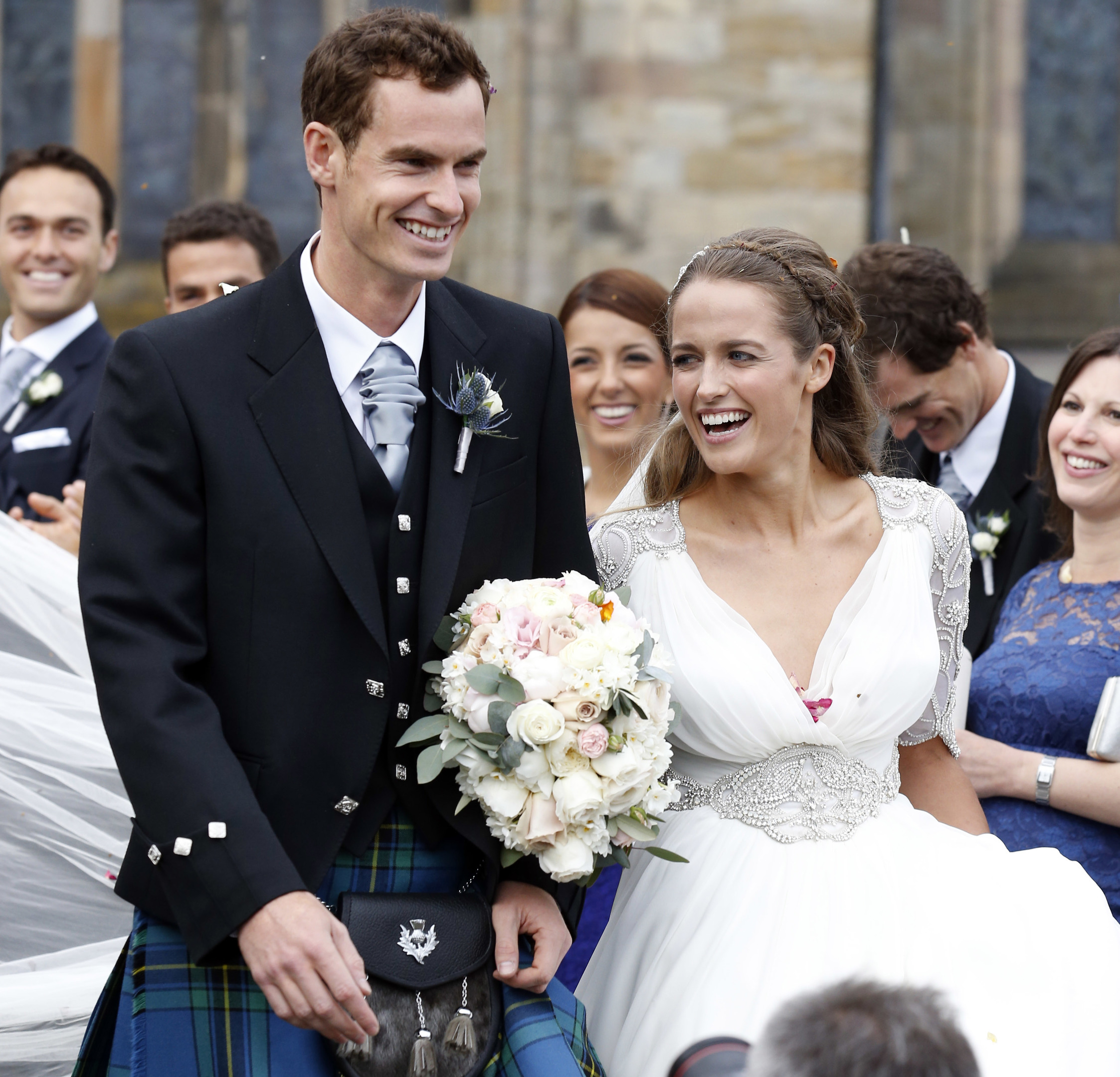 Andy and Kim Murray (Alex B. Huckle/GC Images)