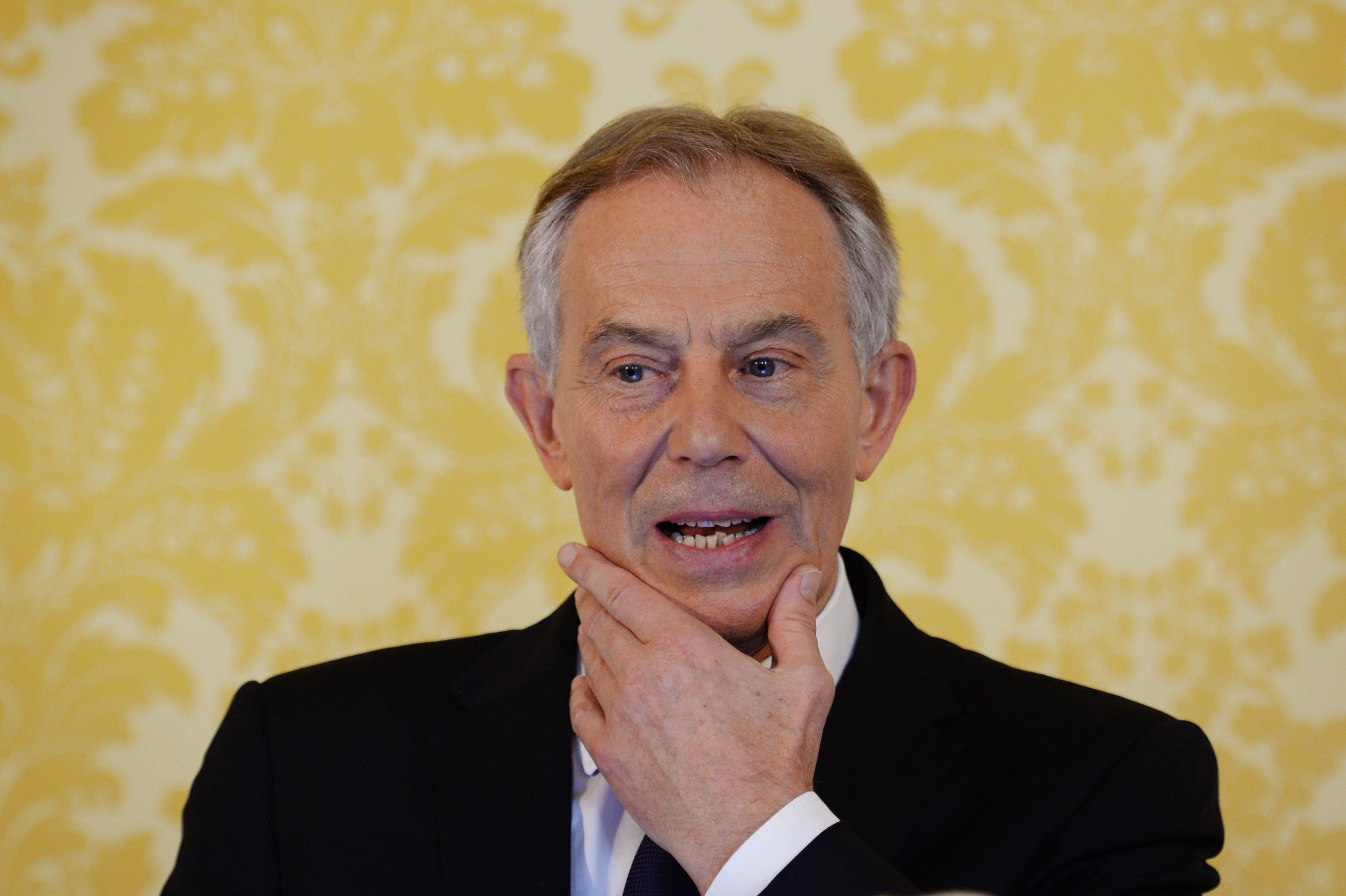 Tony Blair during his Chilcot Iraq inquiry response statement (Stefan Rousseau - WPA Pool/Getty Images)