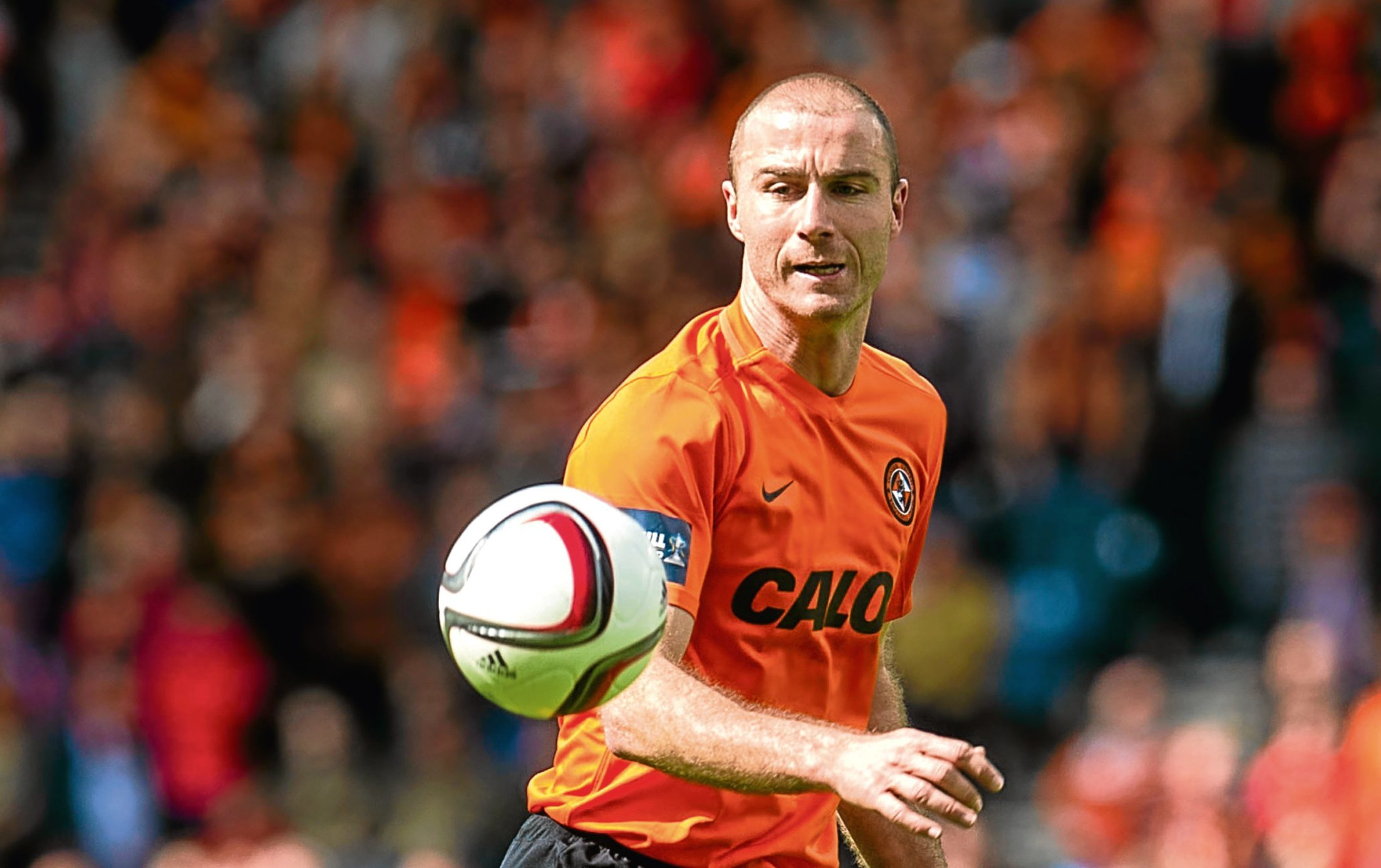 Sean Dillon in action for Dundee United (SNS Group)
