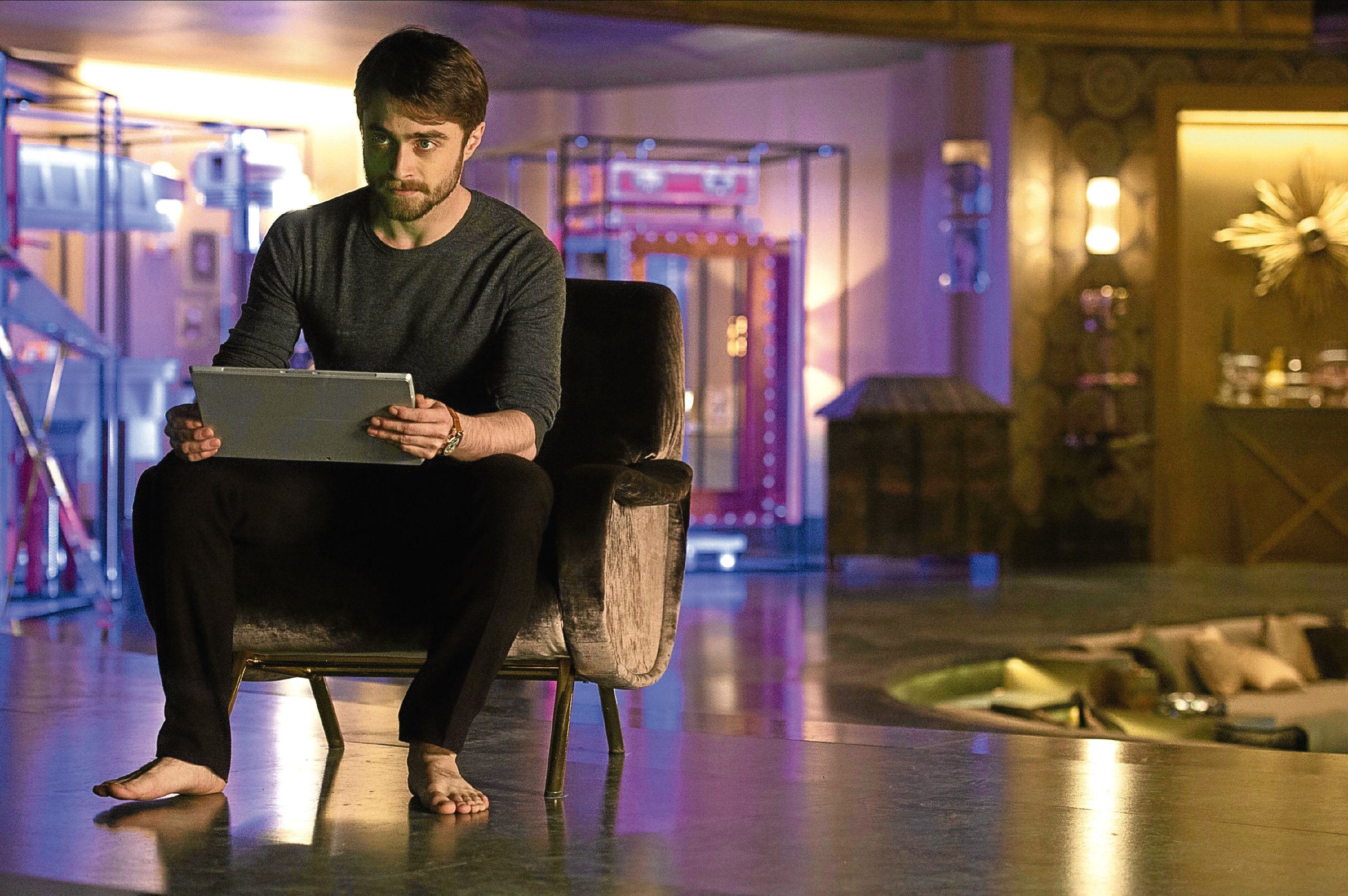 DANIEL RADCLIFFE (From Now You See Me 2, directed by JON M. CHU)