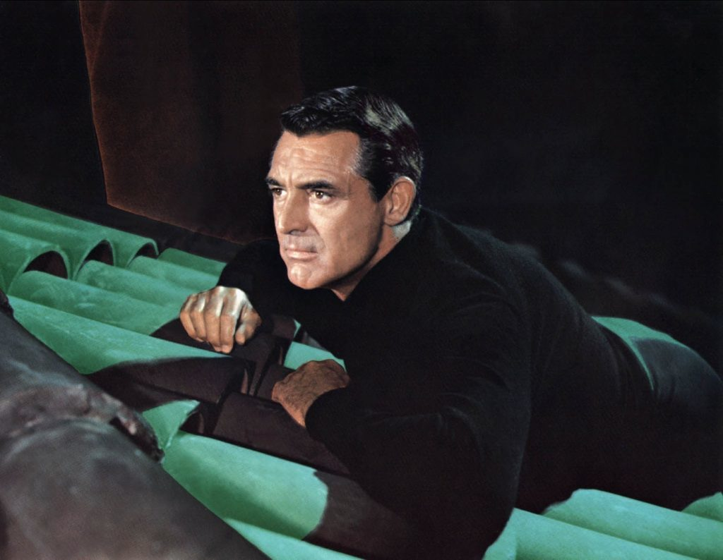 Grant in To Catch a Thief, 1955 (Paramount)