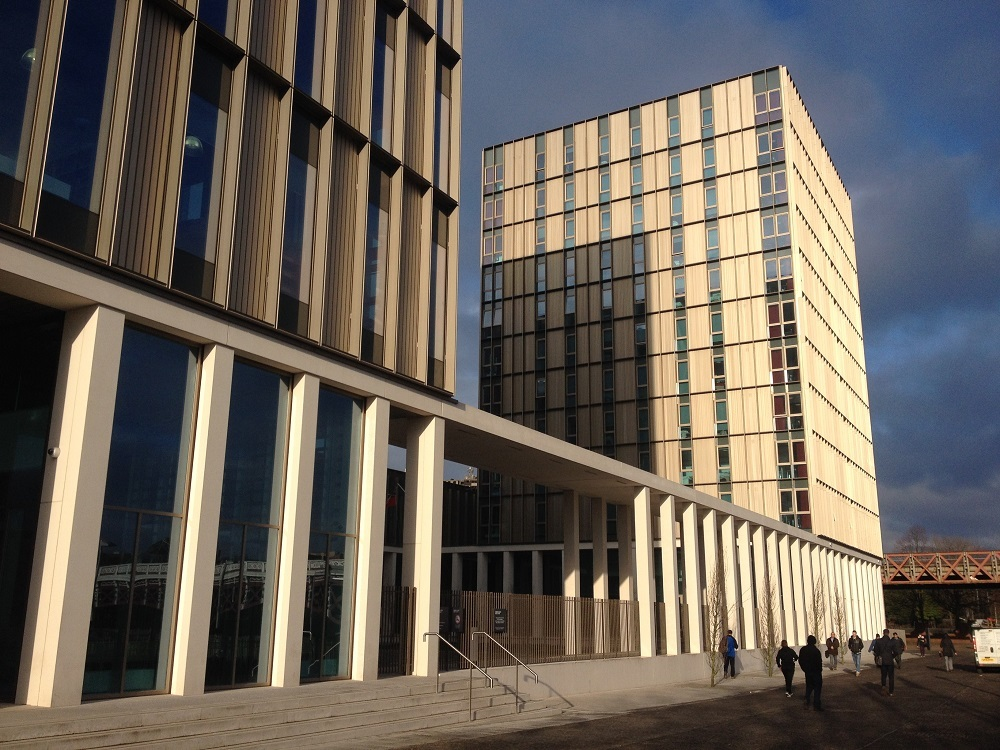 City of Glasgow College Riverside Campus (Michael Laird Architects & Reiach and Hall Architects)