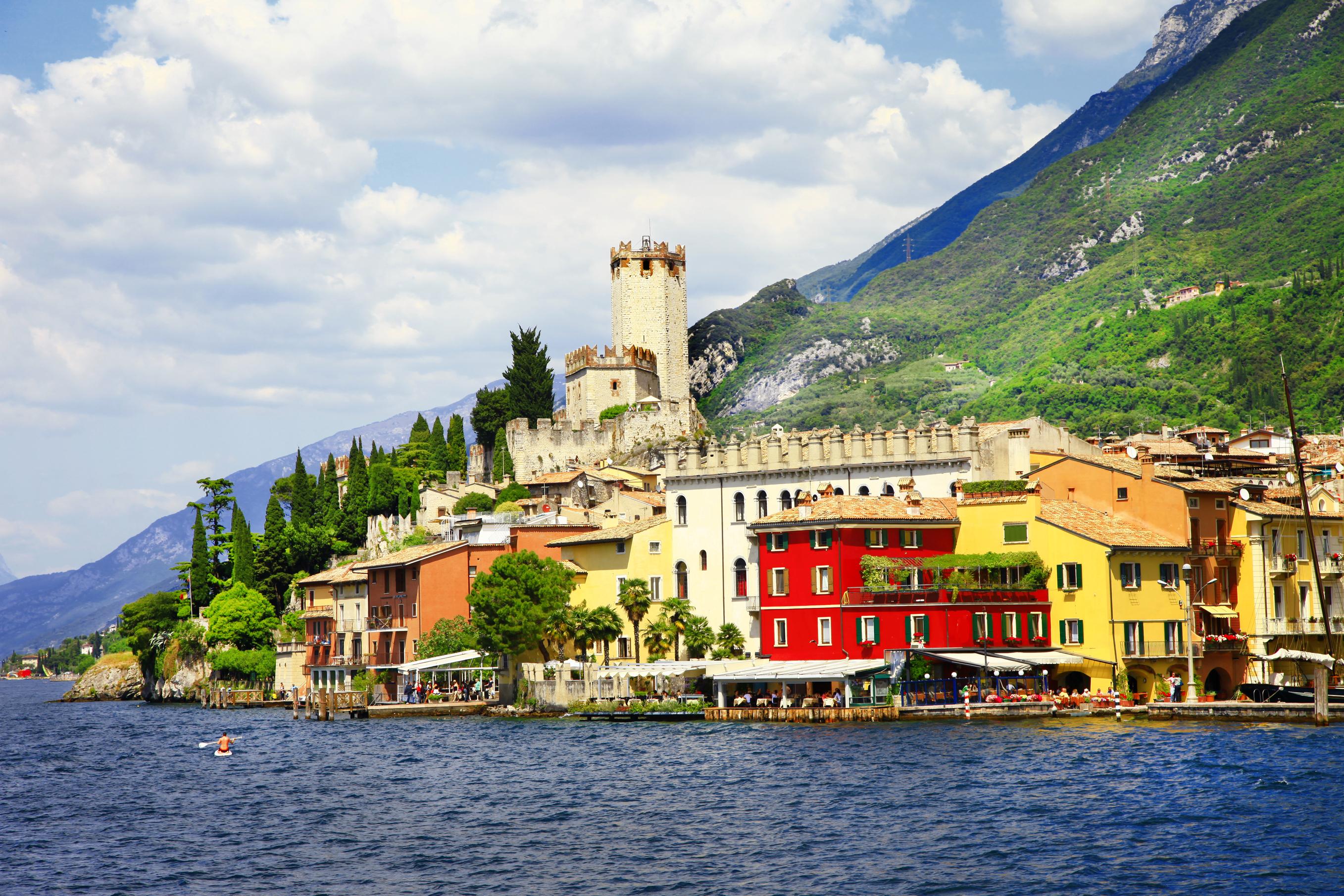 Malcesine, Lake Garda (Getty Images)