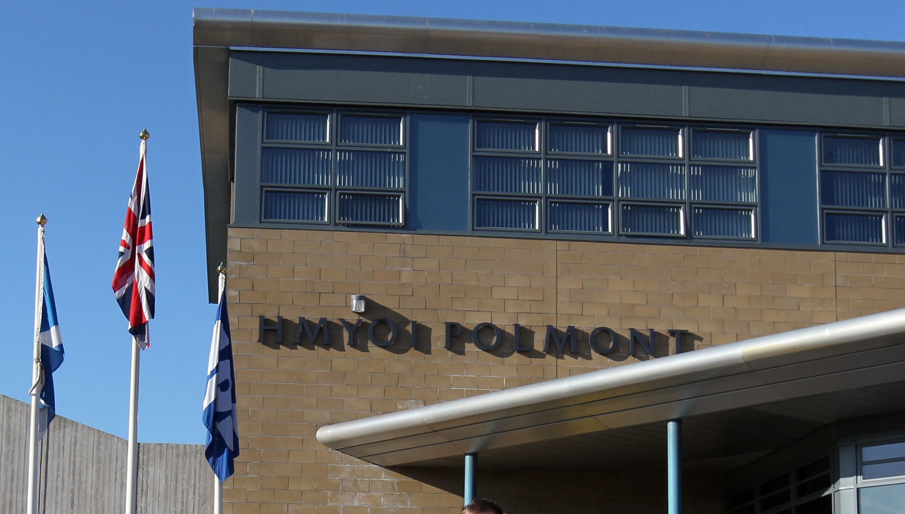 HM Young Offenders' Institution Polmont prison (PA)