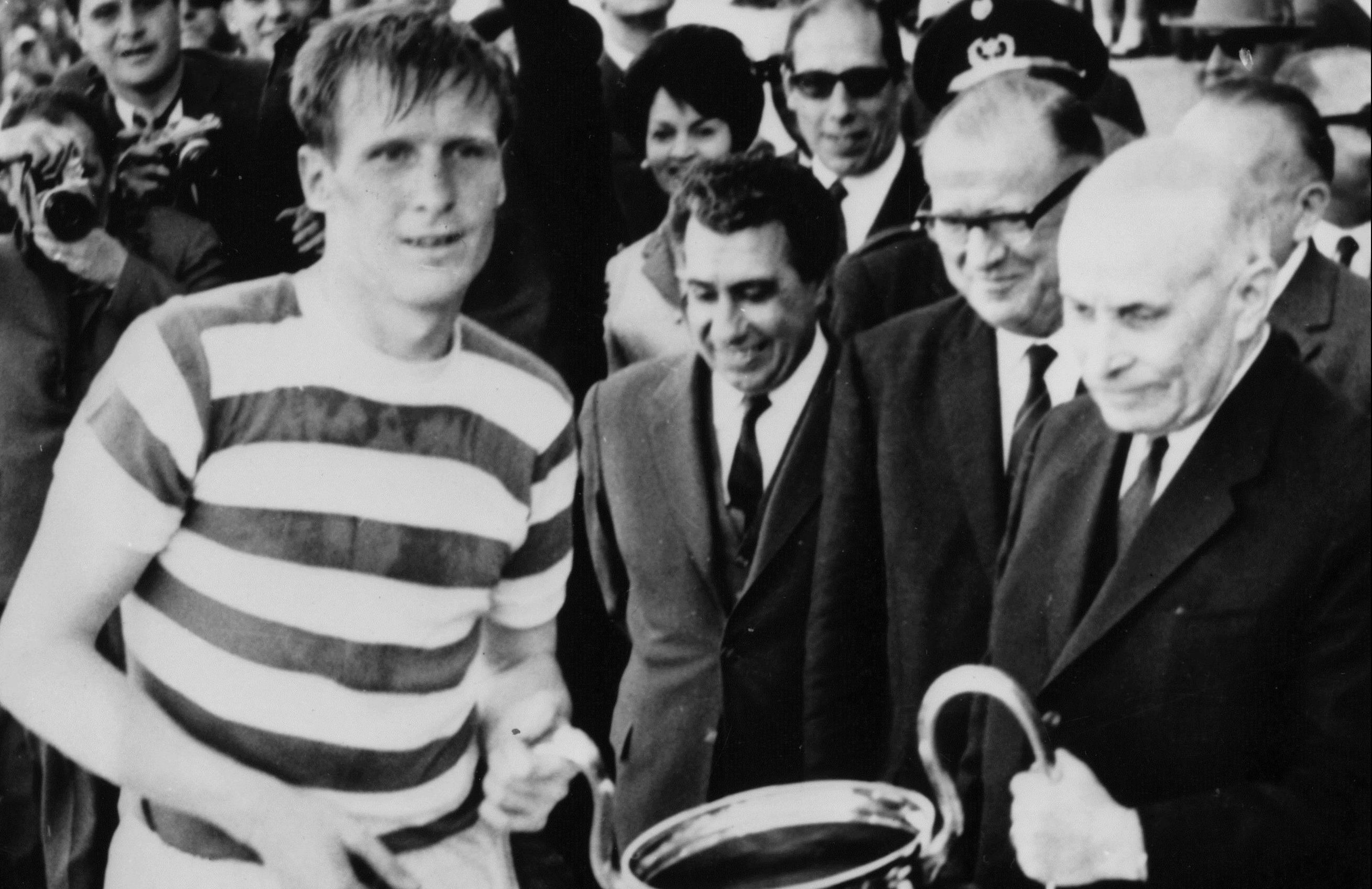 Billy McNeill led Celtic's Lisbon Lions to an incredible season in 1967( Central Press/Getty Images)