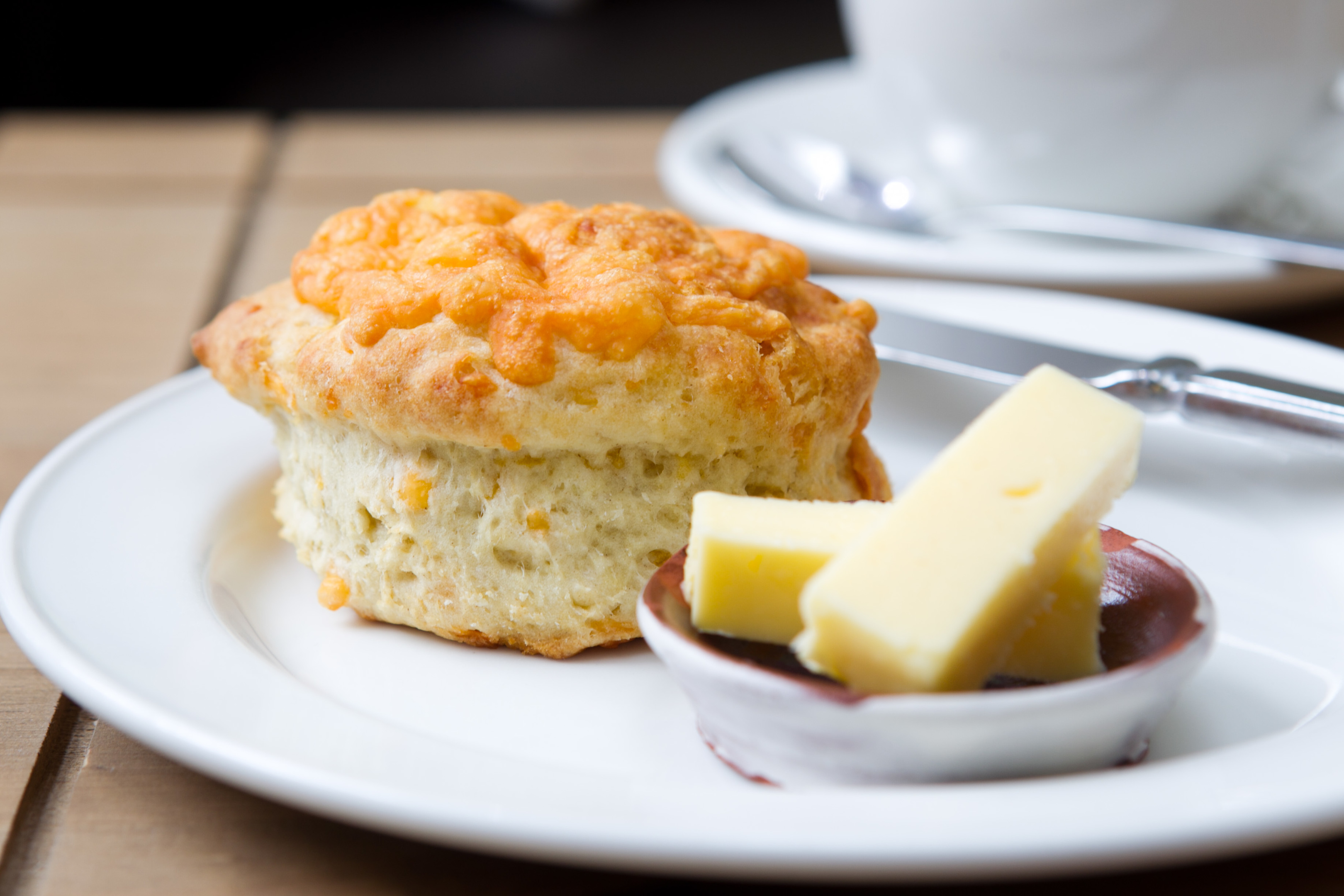 Corbenic Cafe's cheese scone (Andrew Cawley / DC Thomson)