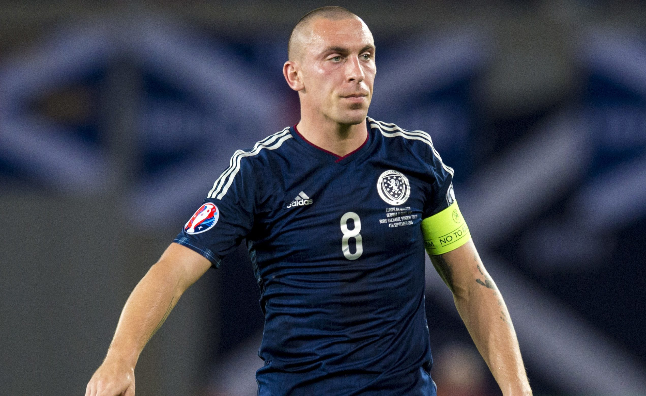 Scott Brown in action for Scotland (SNS Group / Craig Williamson)