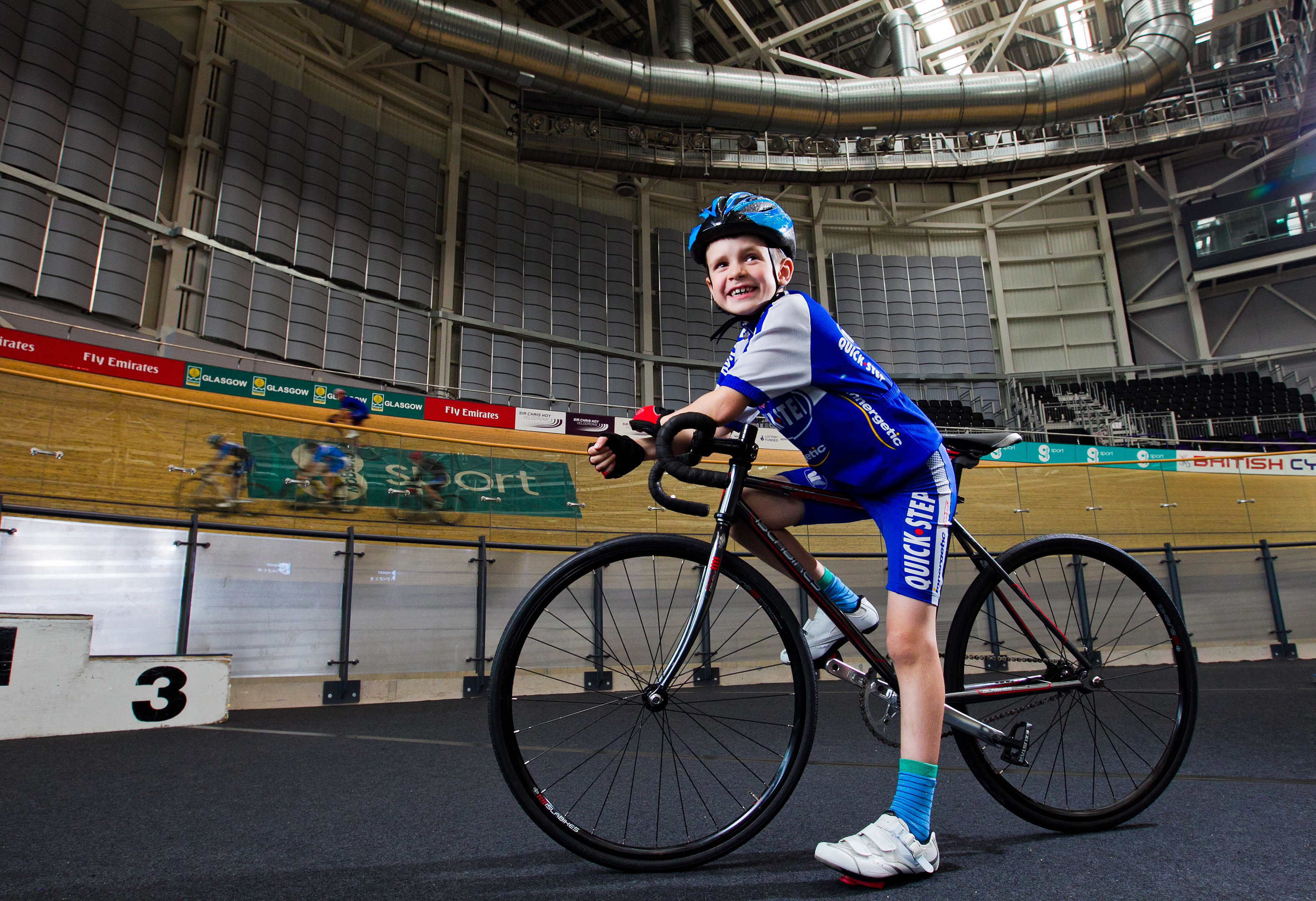 Fraser Anderson, who is a keen cyclist, and has been inspired by the Rio Olympics (Andrew Cawley/DC Thomson)