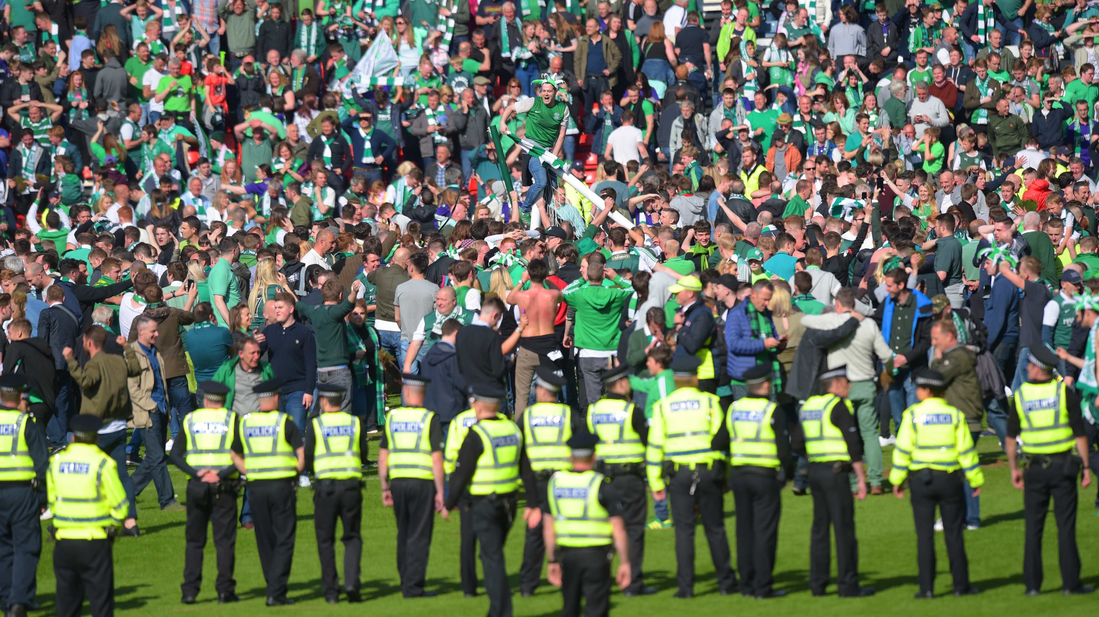 Scottish Cup Final aftermath (SNS Group)