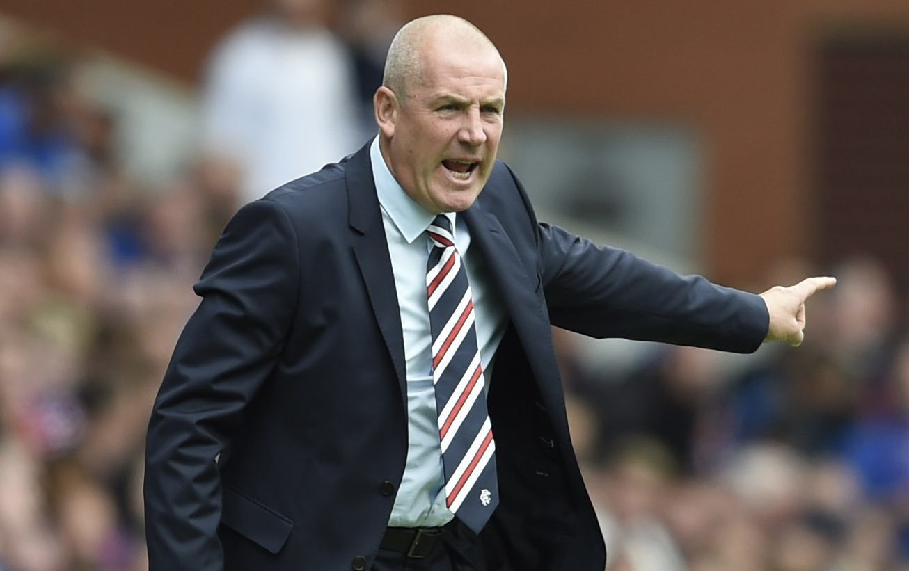 Rangers manager Mark Warburton (Ian Rutherford/PA Wire)
