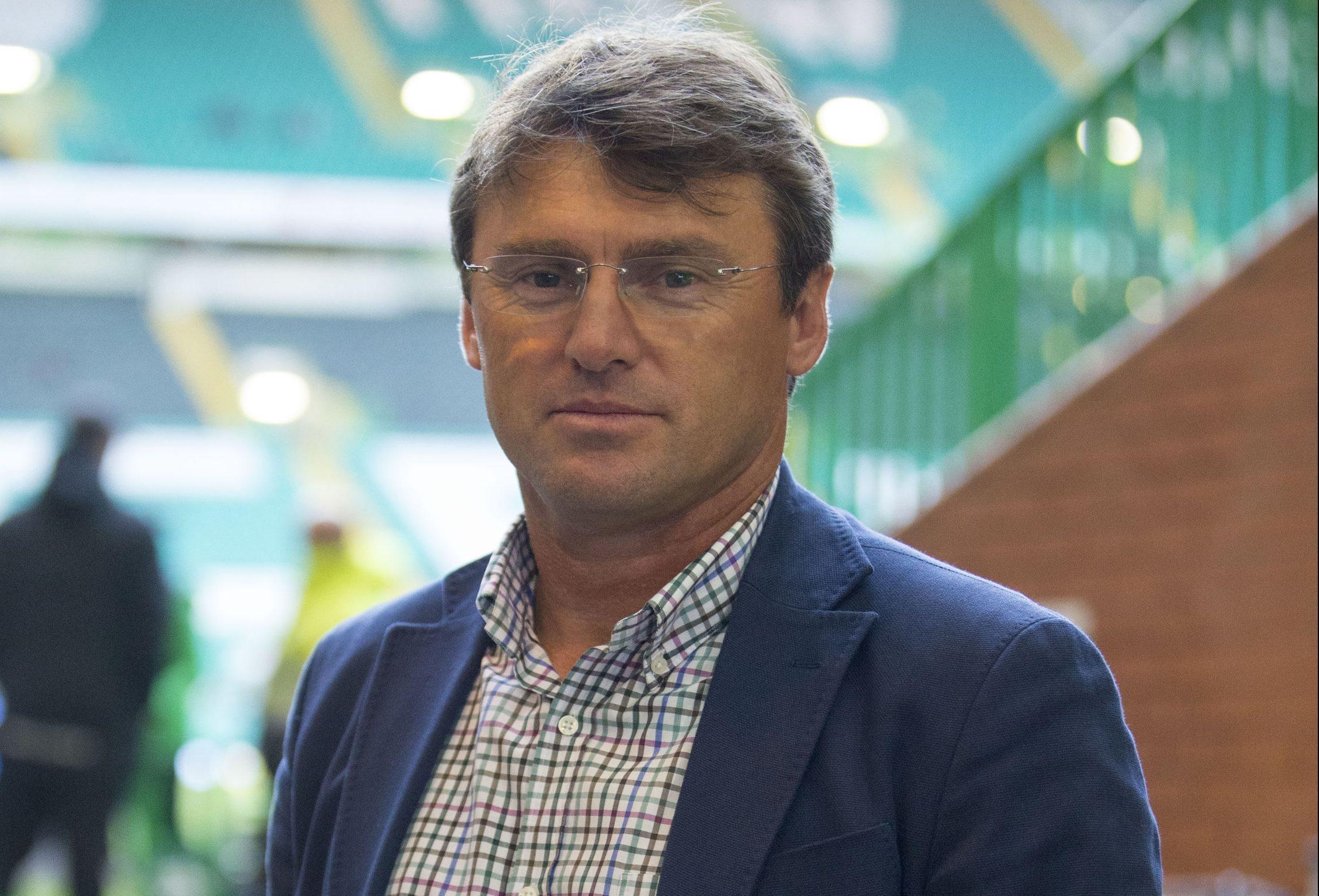Former Celtic player Lubo Moravcik (Jeff Holmes/PA Wire)
