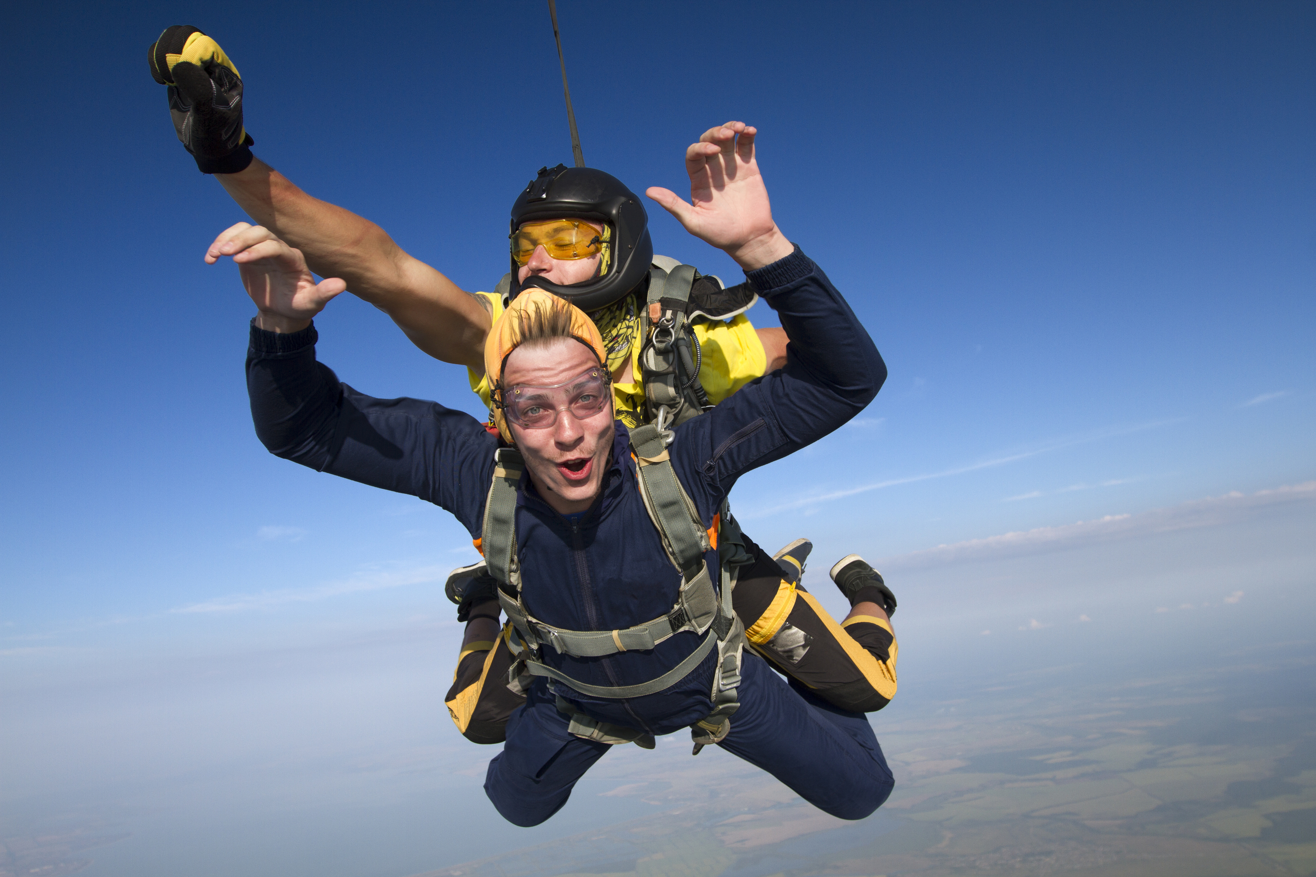 Skydiving is a popular charity challenge (Getty Images)