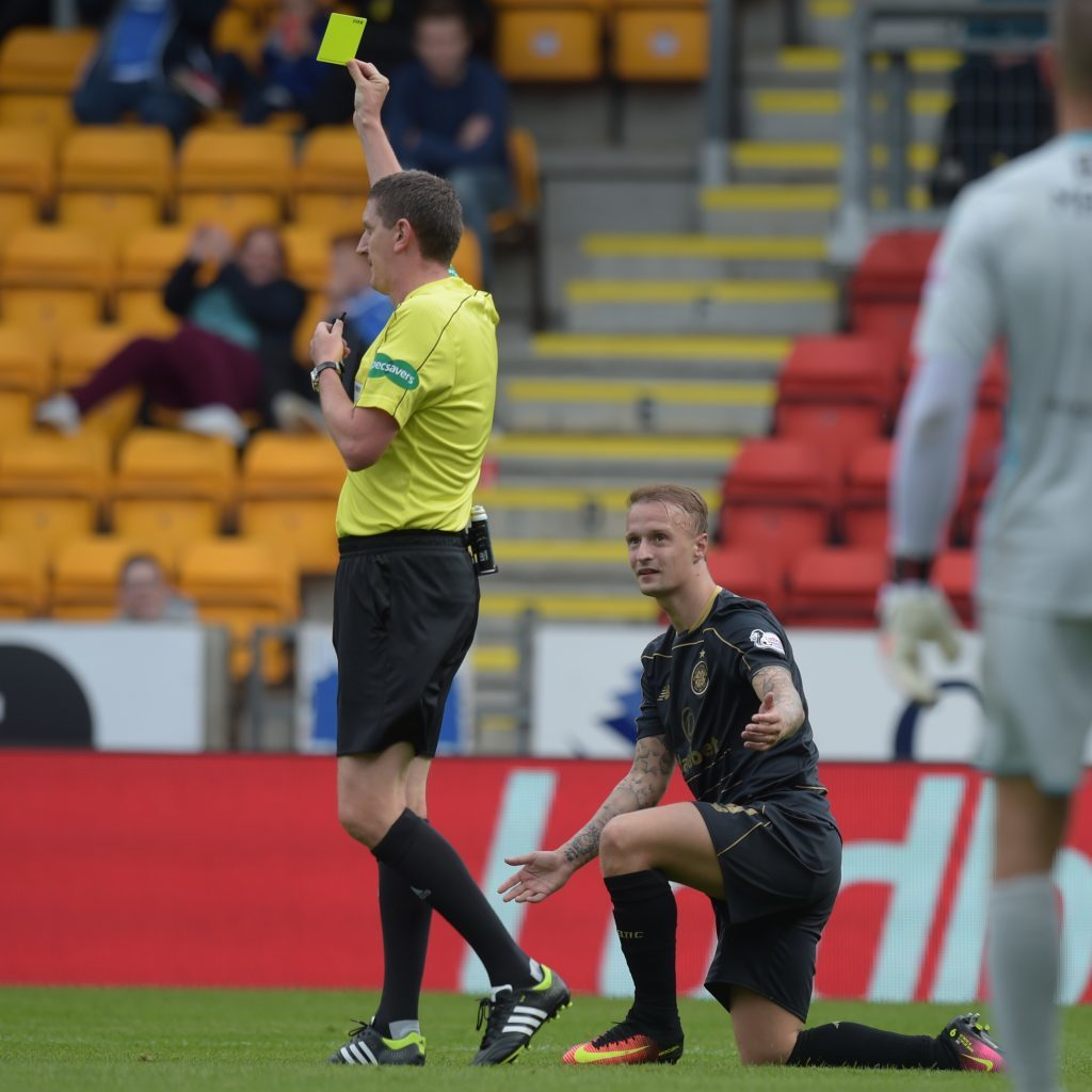 Griffiths is booked for simulation (SNS Group / Craig Foy)