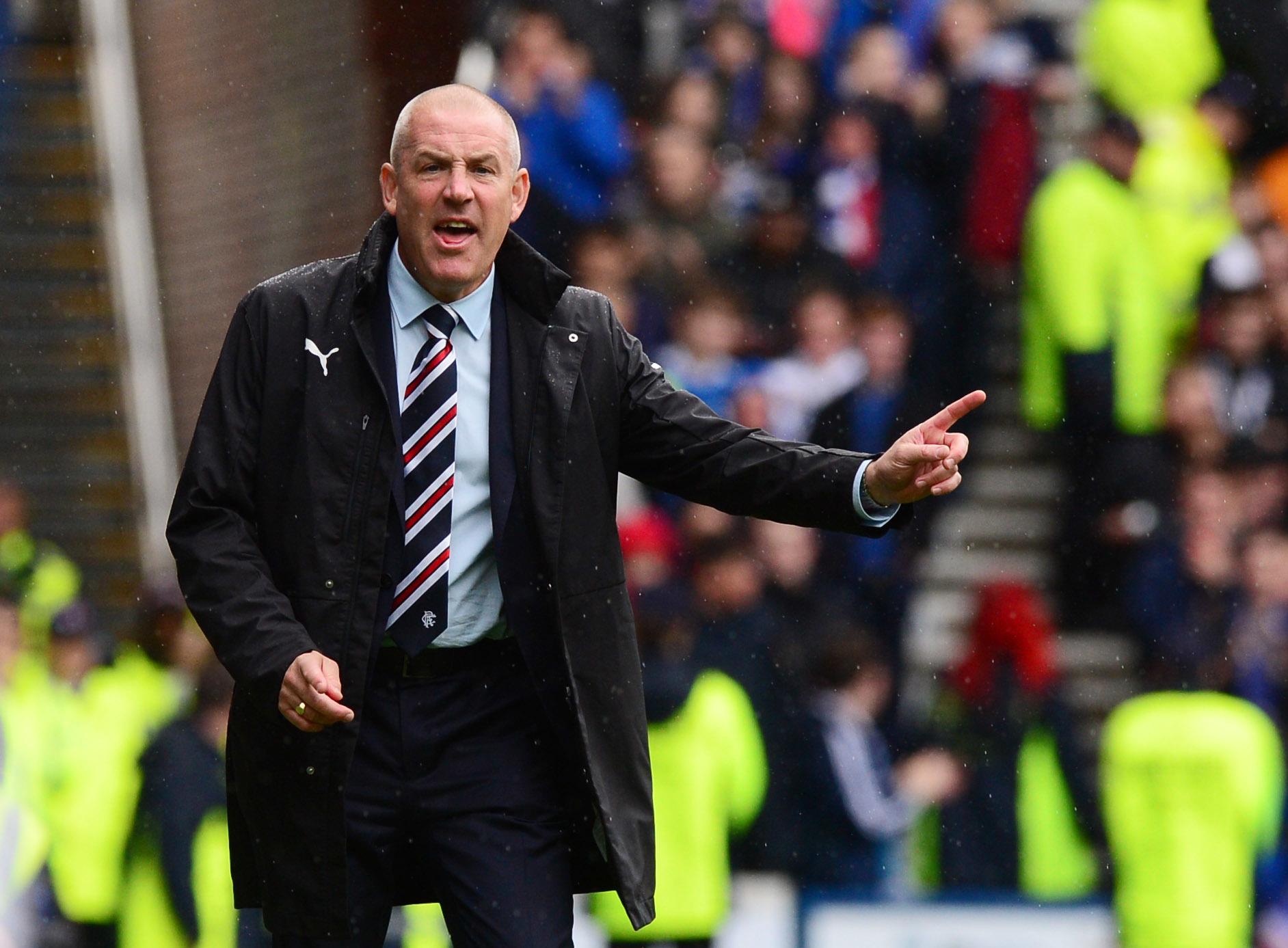 Rangers manager Mark Warburton (SNS Group / Alan Harvey)
