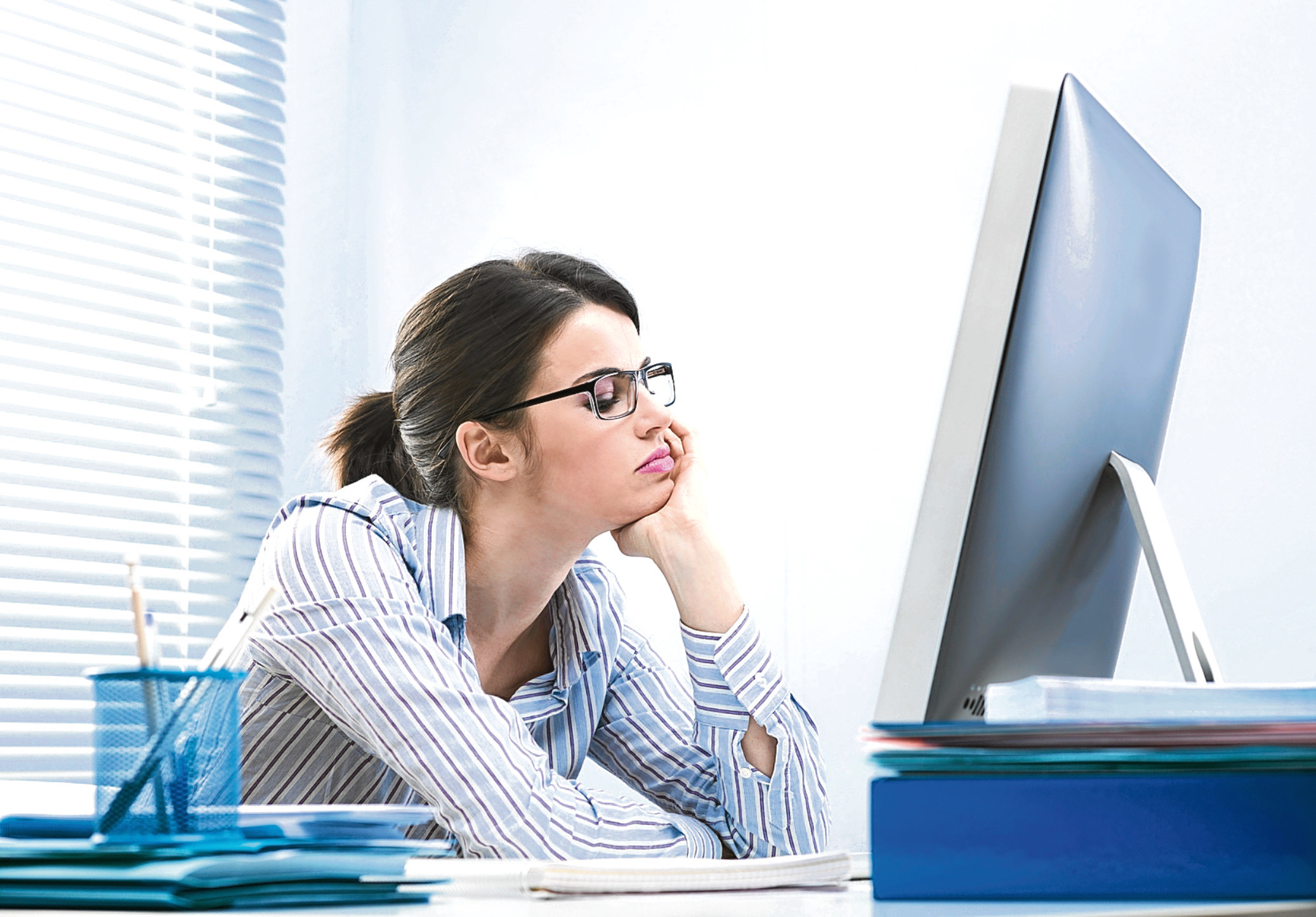 Being bored at work is bad for you (Getty Images)