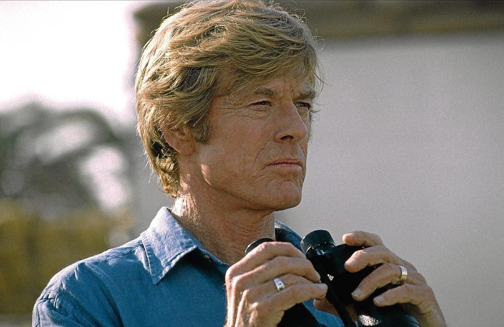 Redford in 2001 film Spy Game (Allstar/UNIVERSAL)
