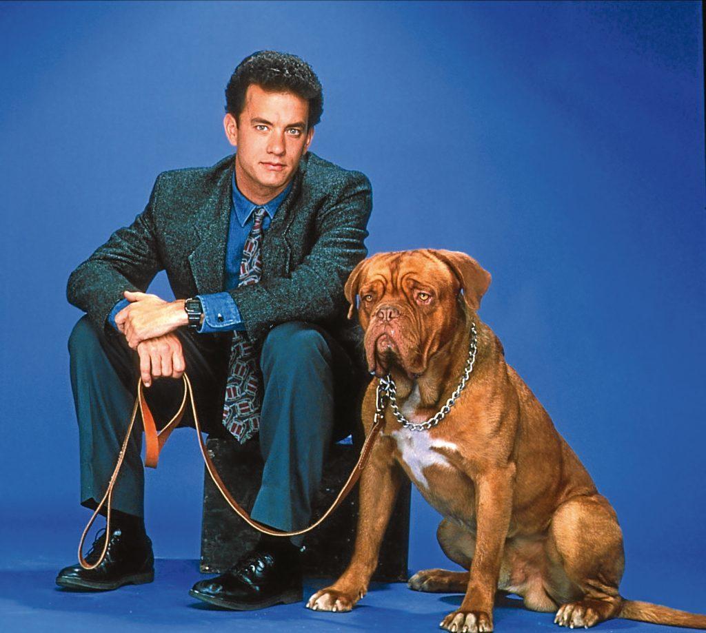 Tom Hanks and Hooch (Allstar/TOUCHSTONE)