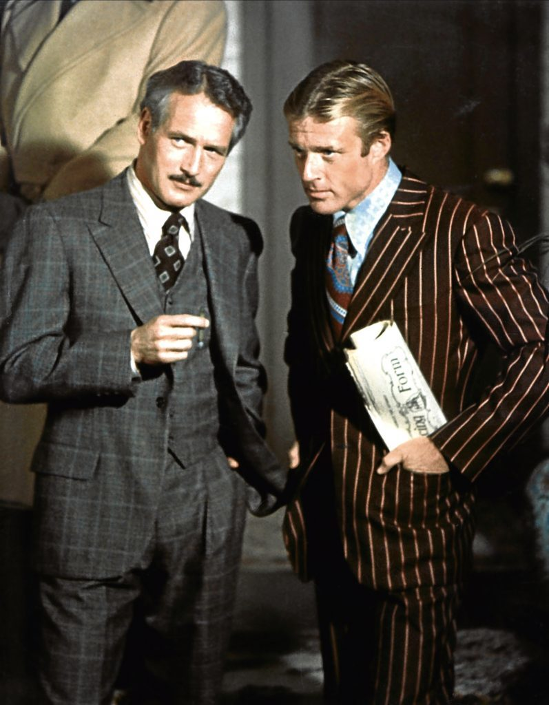Paul Newman and Redford in The Sting (Allstar/UNIVERSAL)