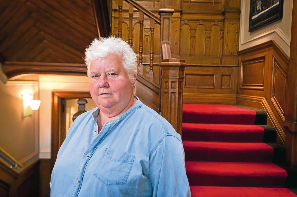 Writer Val McDermid in Edinburgh (Chris Watt)
