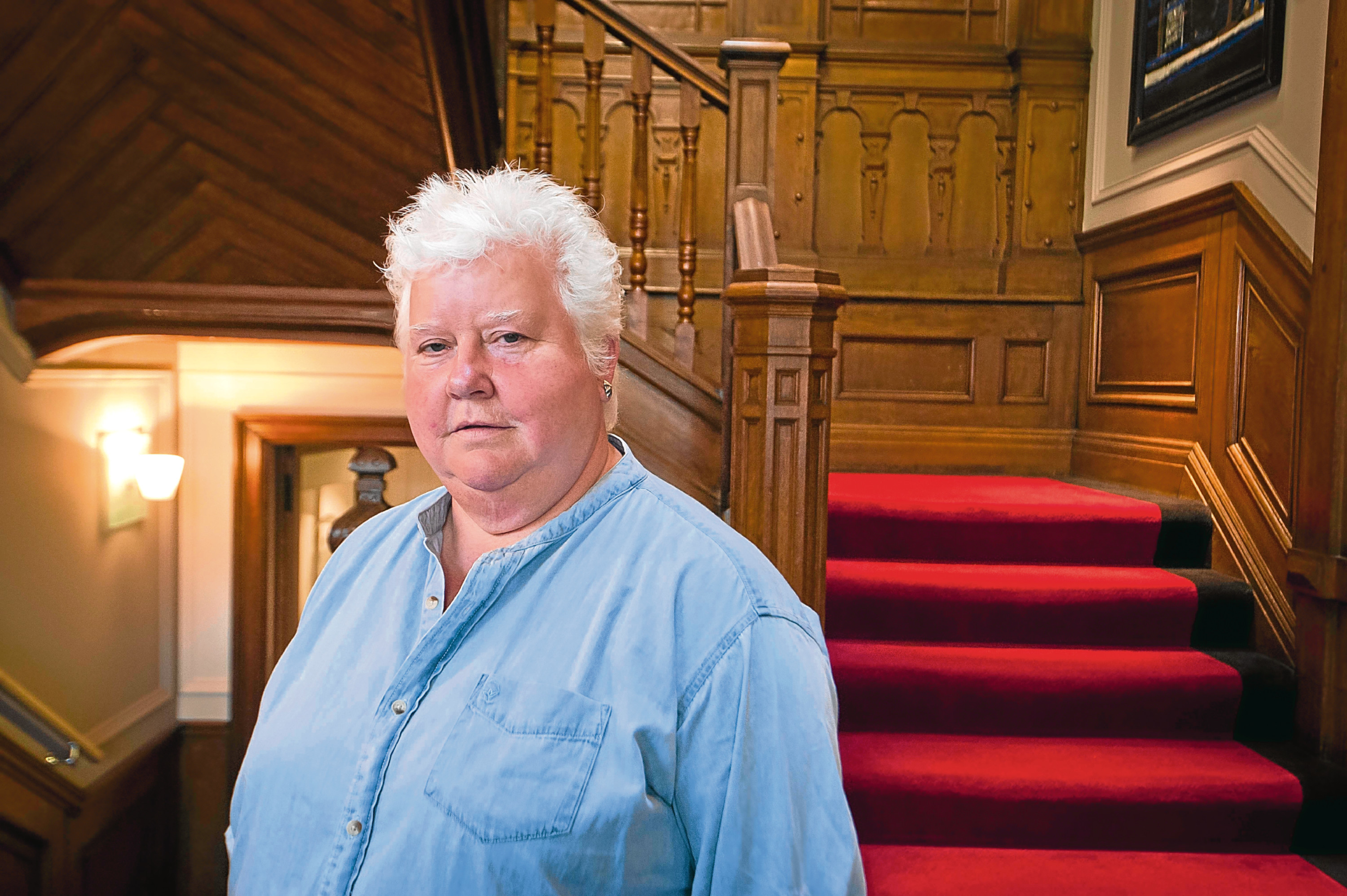 Writer Val McDermid in Edinburgh (Chris Watt)