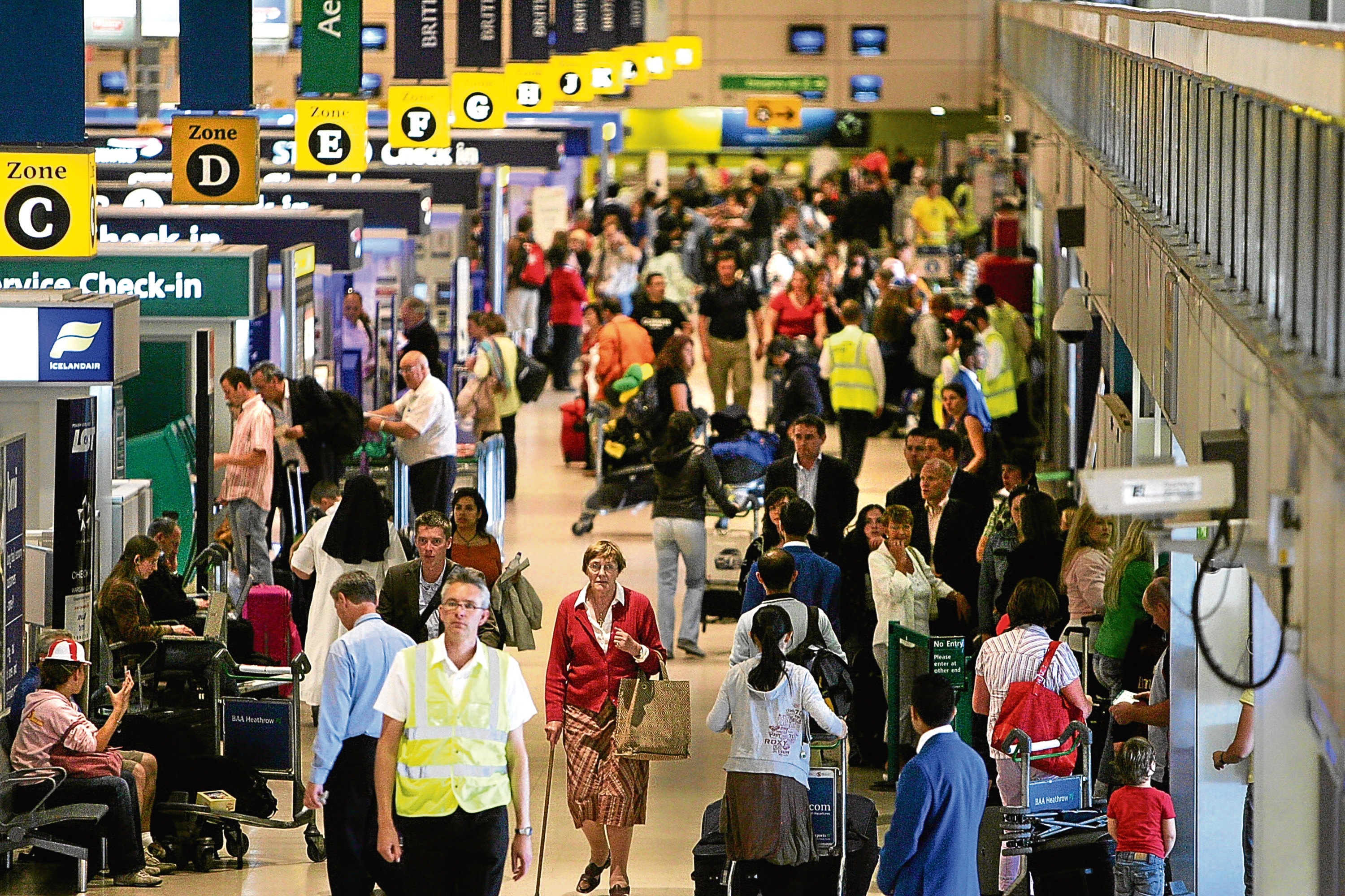 Heathrow Airport (Cate Gillon/Getty Images)