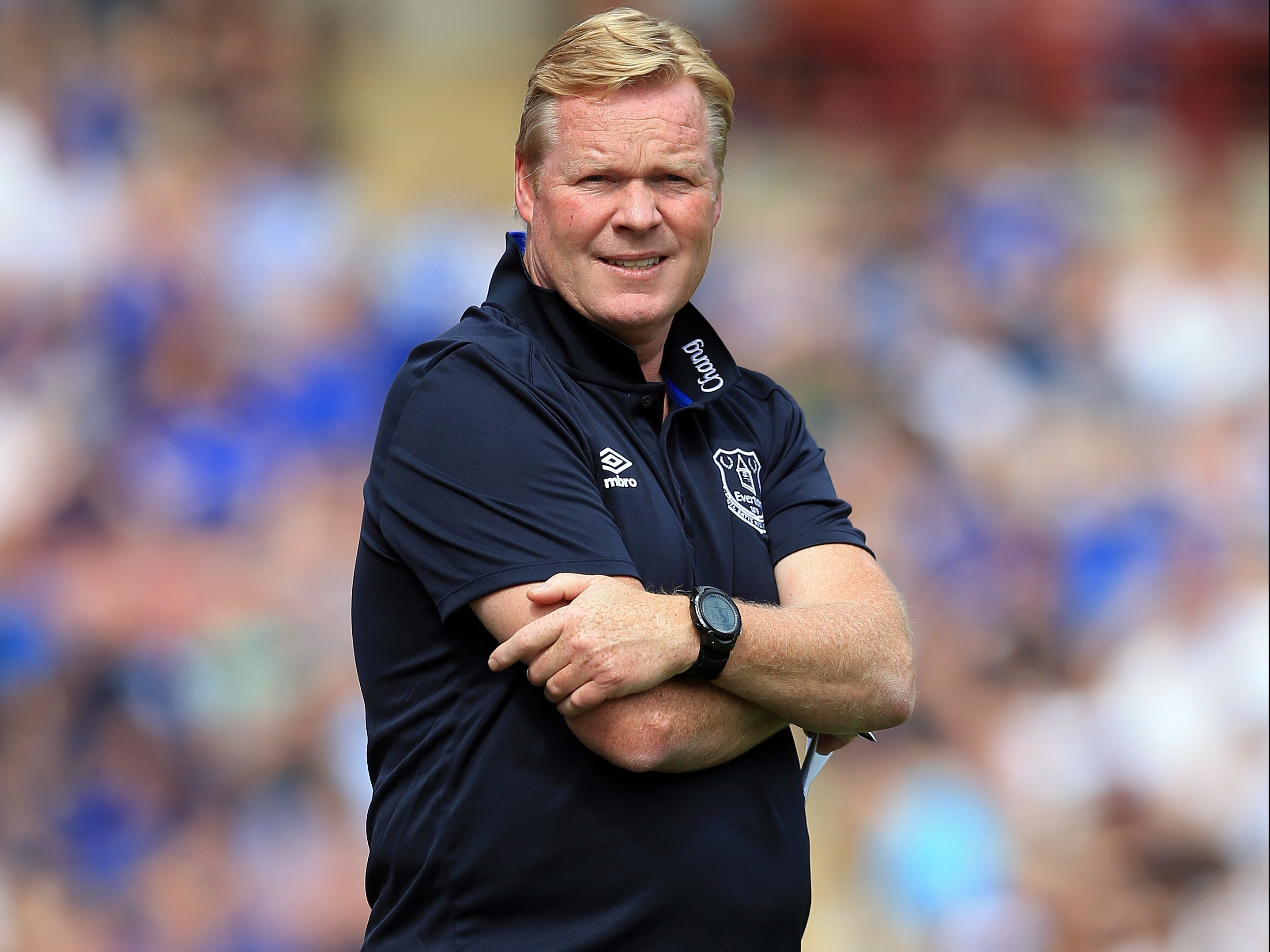 Ronald Koeman manager of Everton (Clint Hughes/Getty Images)