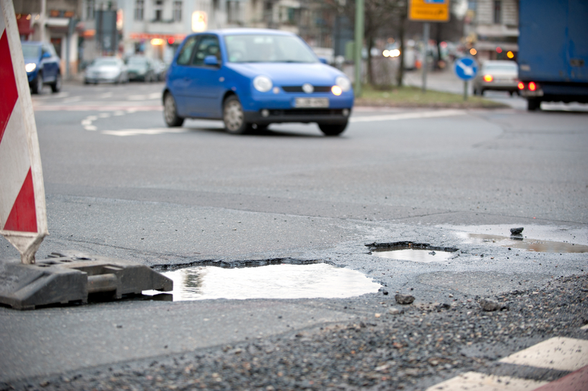 Bad road surfaces are being ignored (Getty)