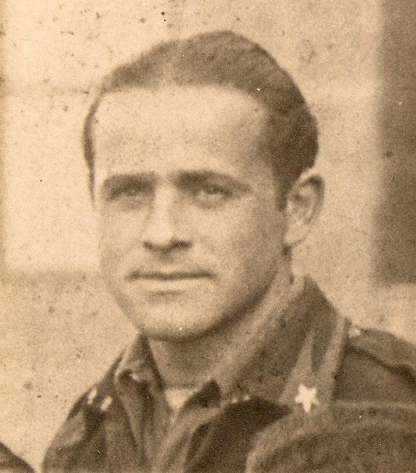 Gino Terni during the war